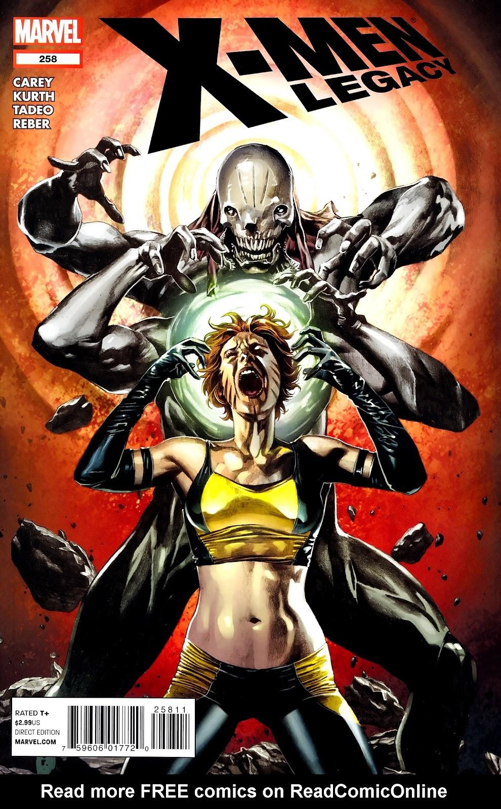 X-Men Legacy (2008) 258 Page 1
