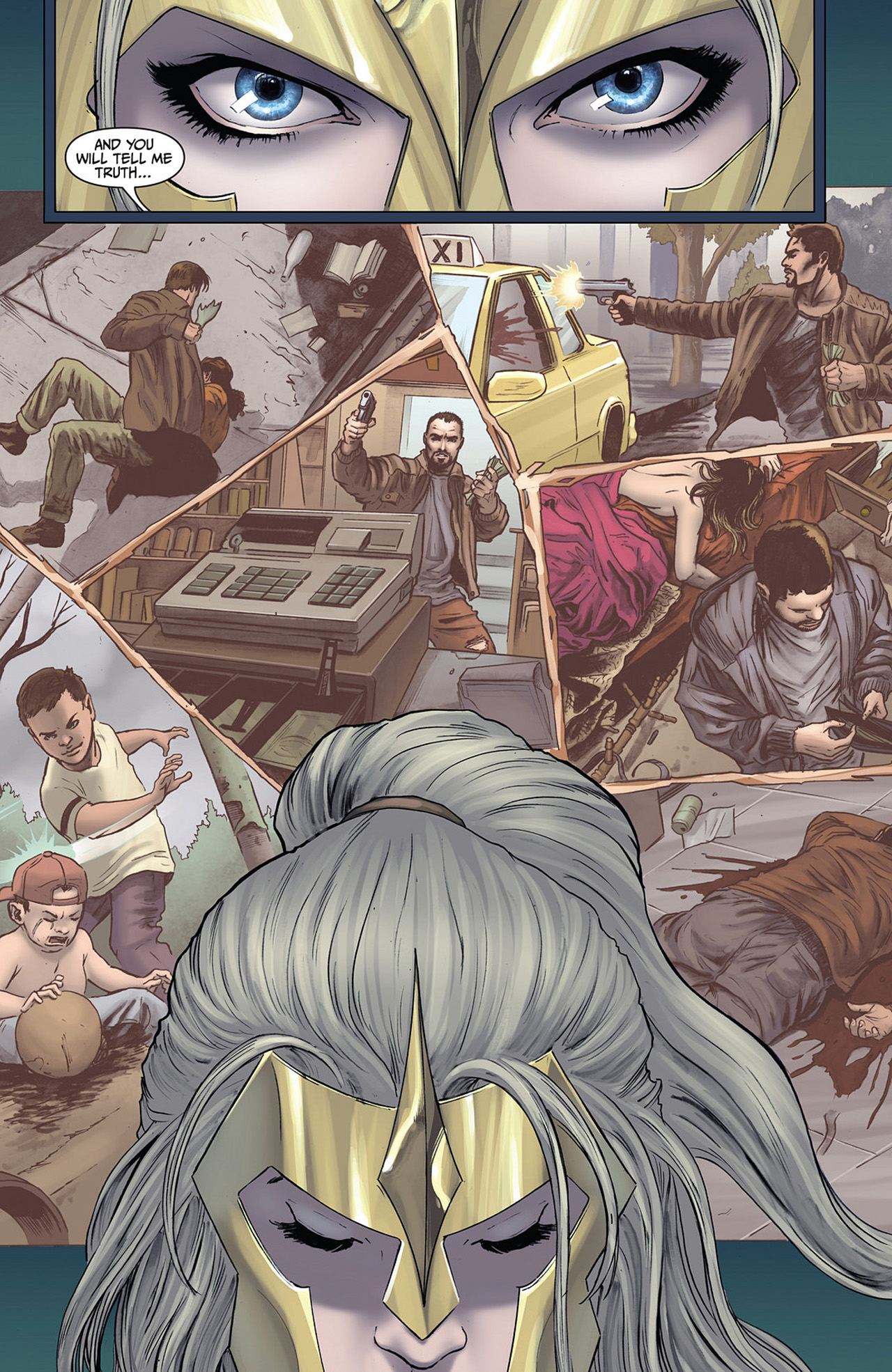 Read online Athena comic -  Issue #2 - 9