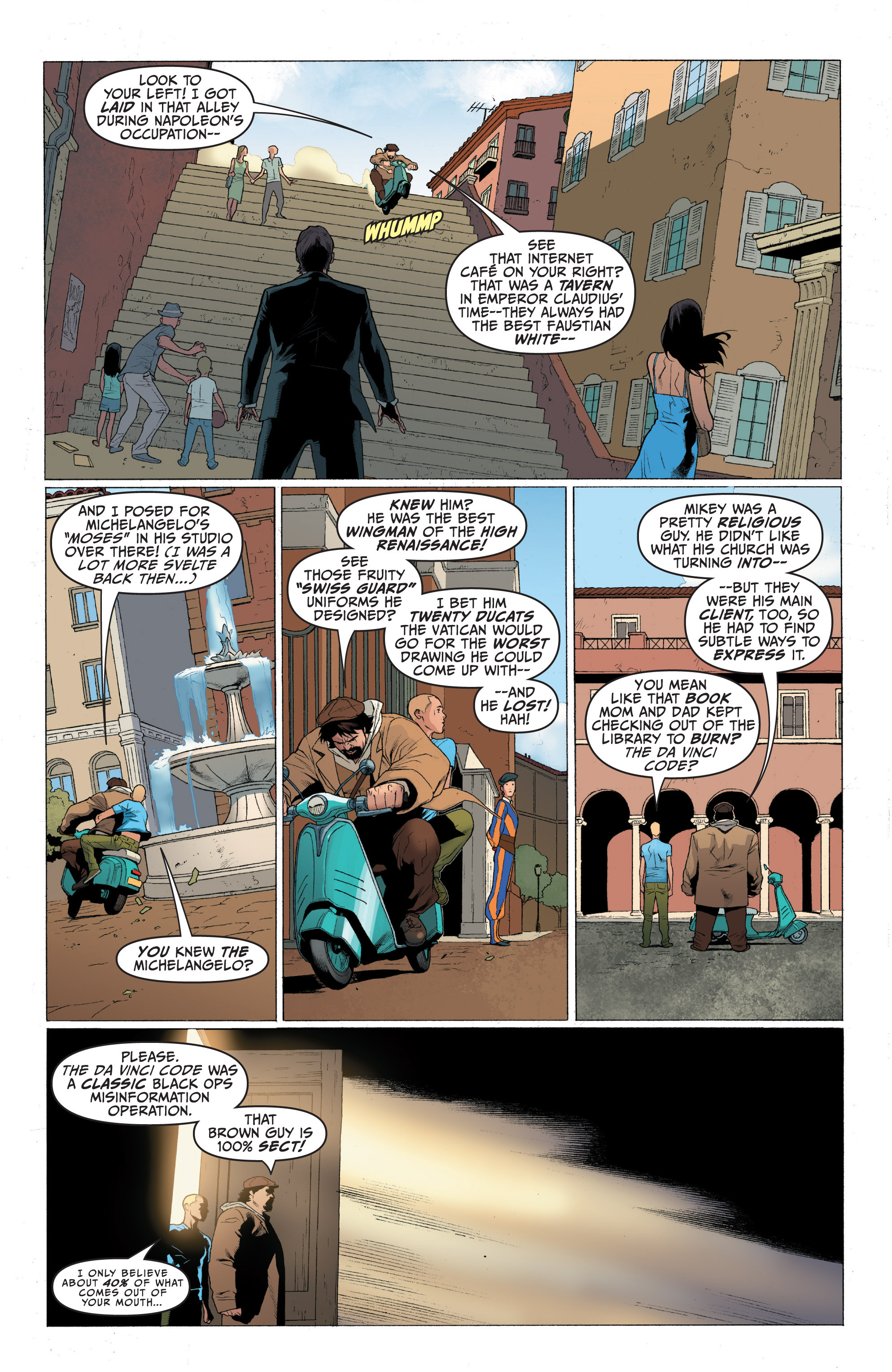 Read online Archer and Armstrong comic -  Issue #Archer and Armstrong _TPB 1 - 44