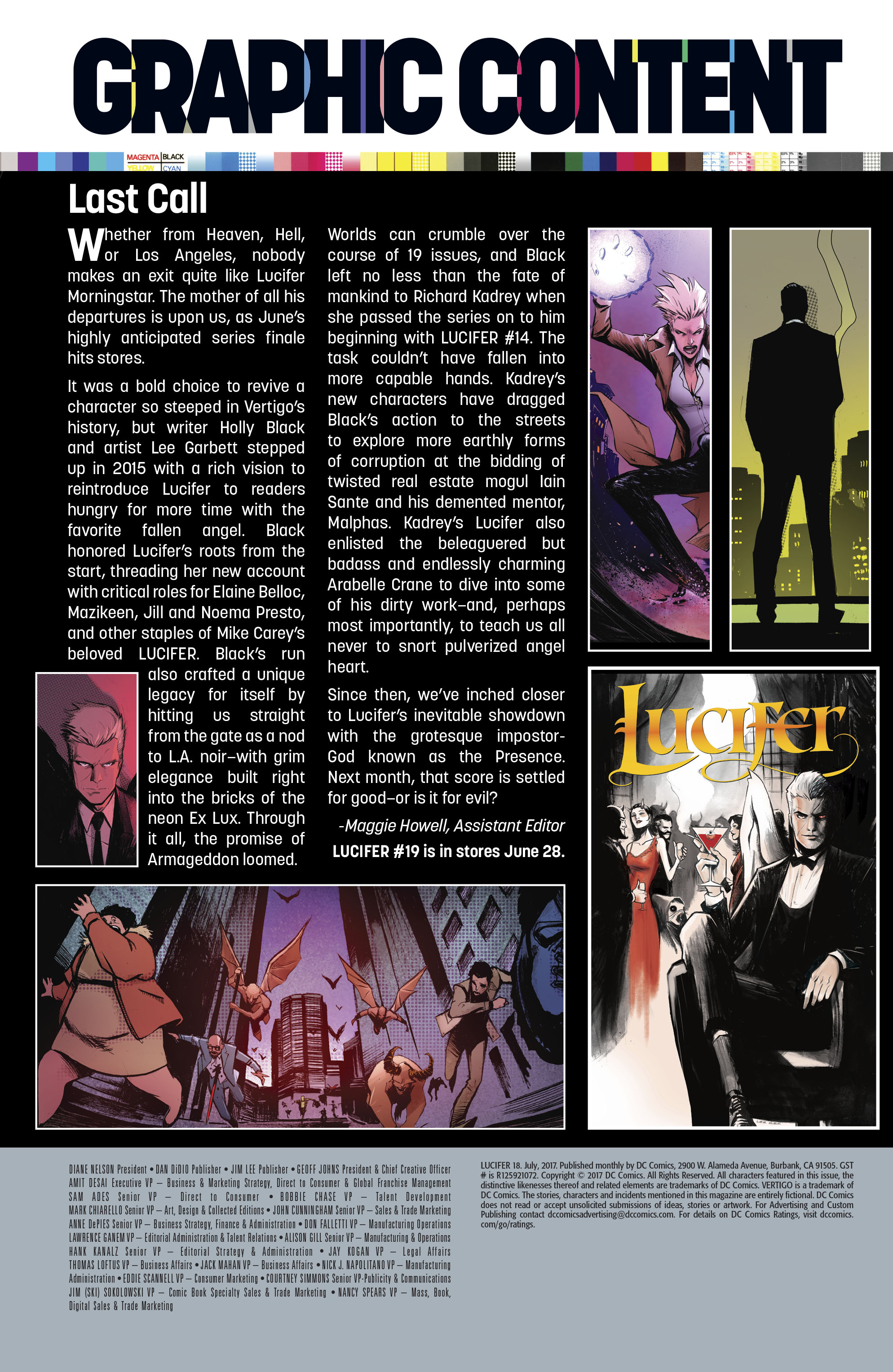 Read online Lucifer (2016) comic -  Issue #18 - 25