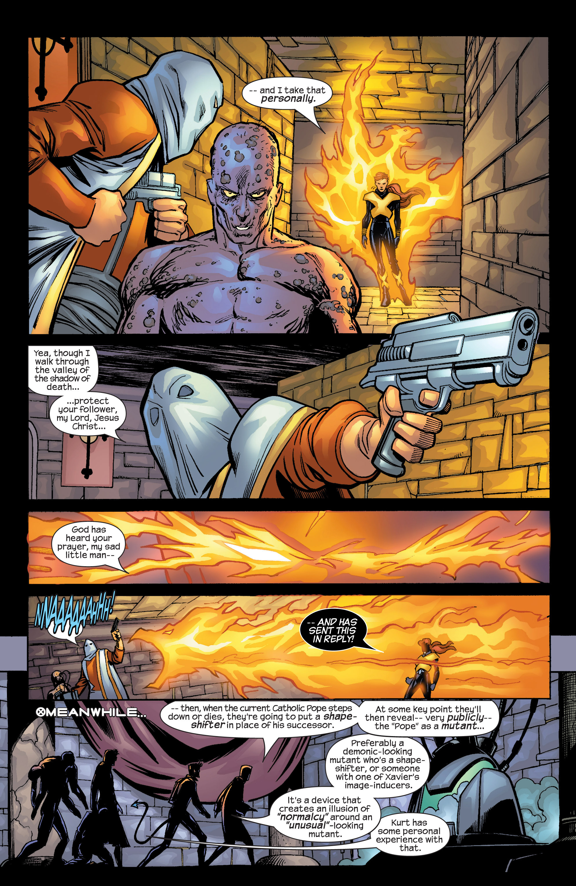 Read online Uncanny X-Men (1963) comic -  Issue #424 - 18