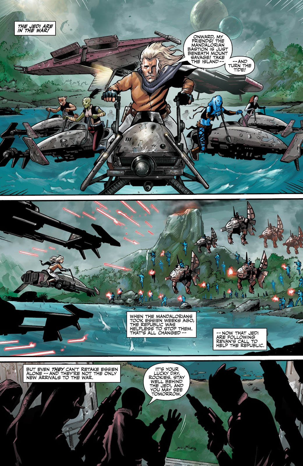 Read online Star Wars Legends: The Old Republic - Epic Collection comic -  Issue # TPB 3 (Part 4) - 3