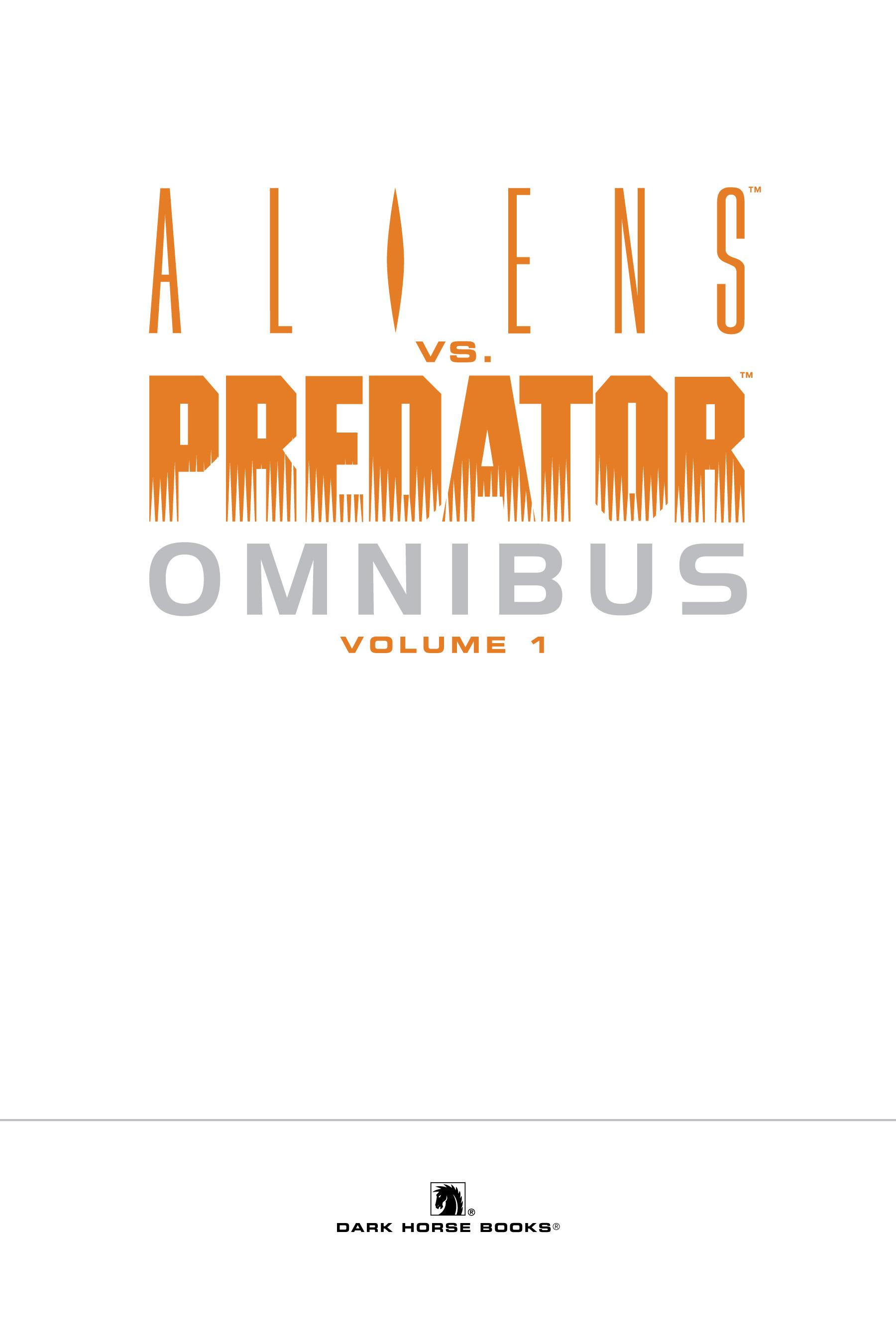 Read online Aliens vs. Predator Omnibus comic -  Issue # _TPB 1 Part 1 - 3