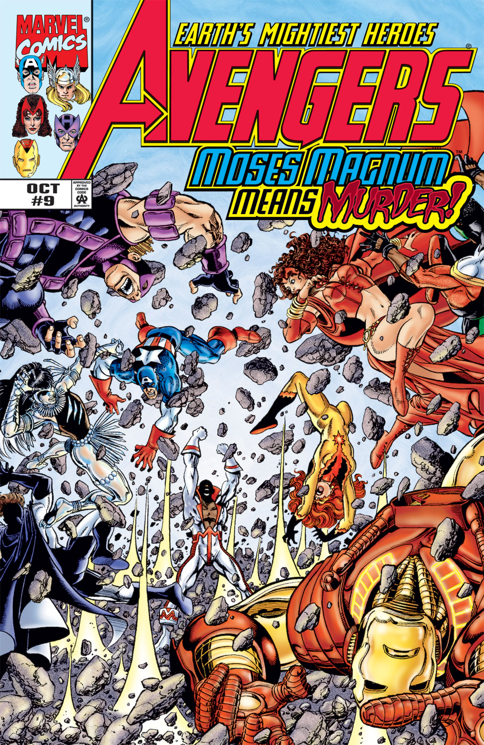 Read online Avengers (1998) comic -  Issue #9 - 1