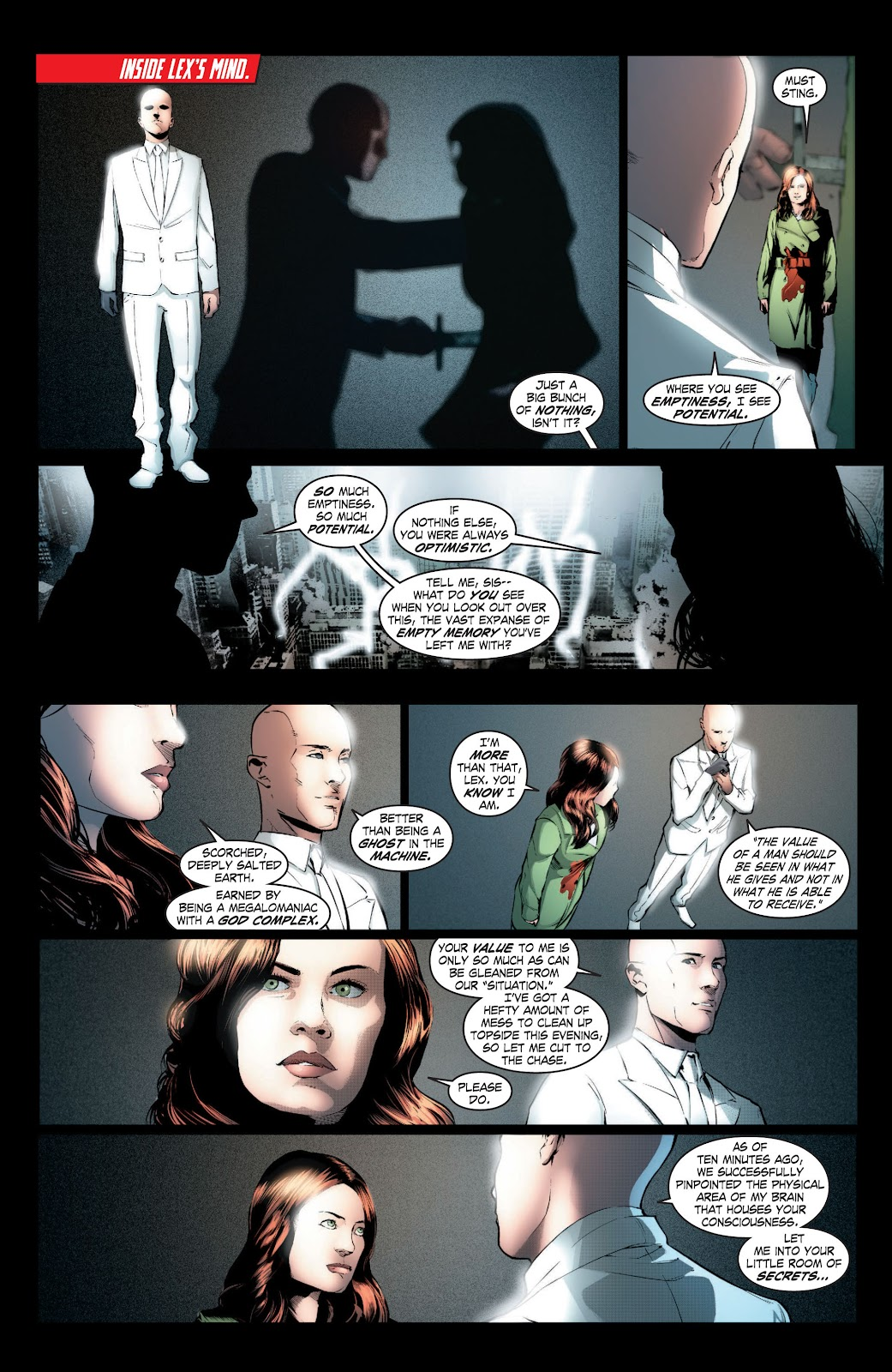 Read online Smallville Season 11 [II] comic -  Issue # TPB 3 - 49