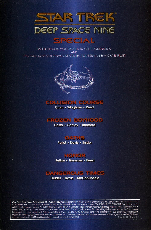 Read online Star Trek: Deep Space Nine (1993) comic -  Issue # _Special 1 - 3