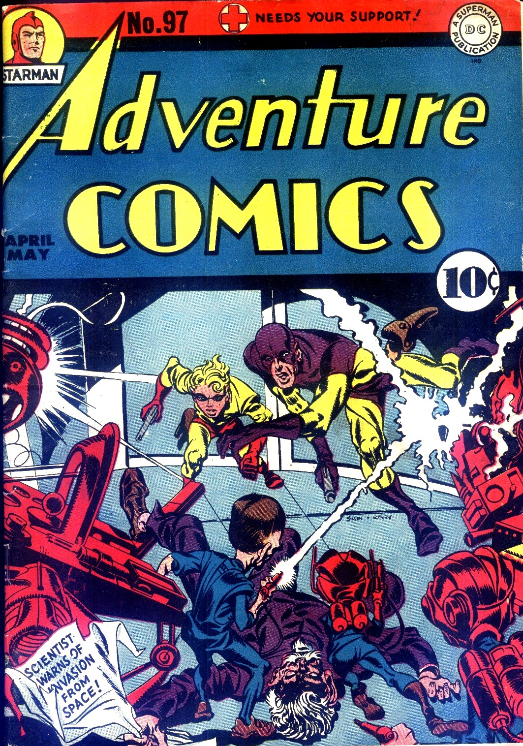 Read online Adventure Comics (1938) comic -  Issue #97 - 1