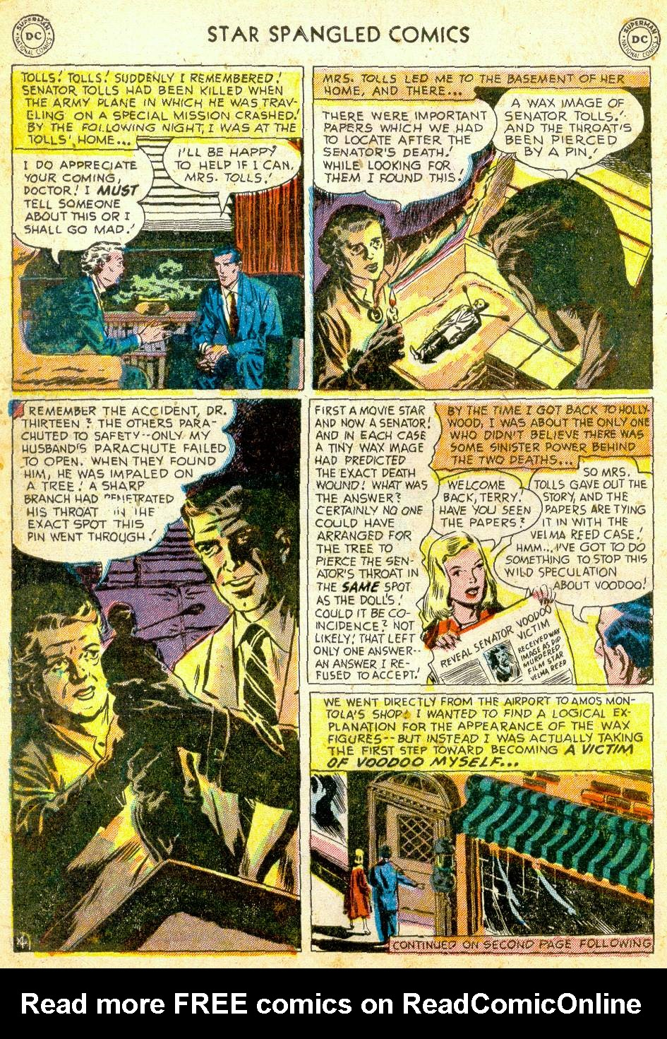Star Spangled Comics (1941) issue 123 - Page 6