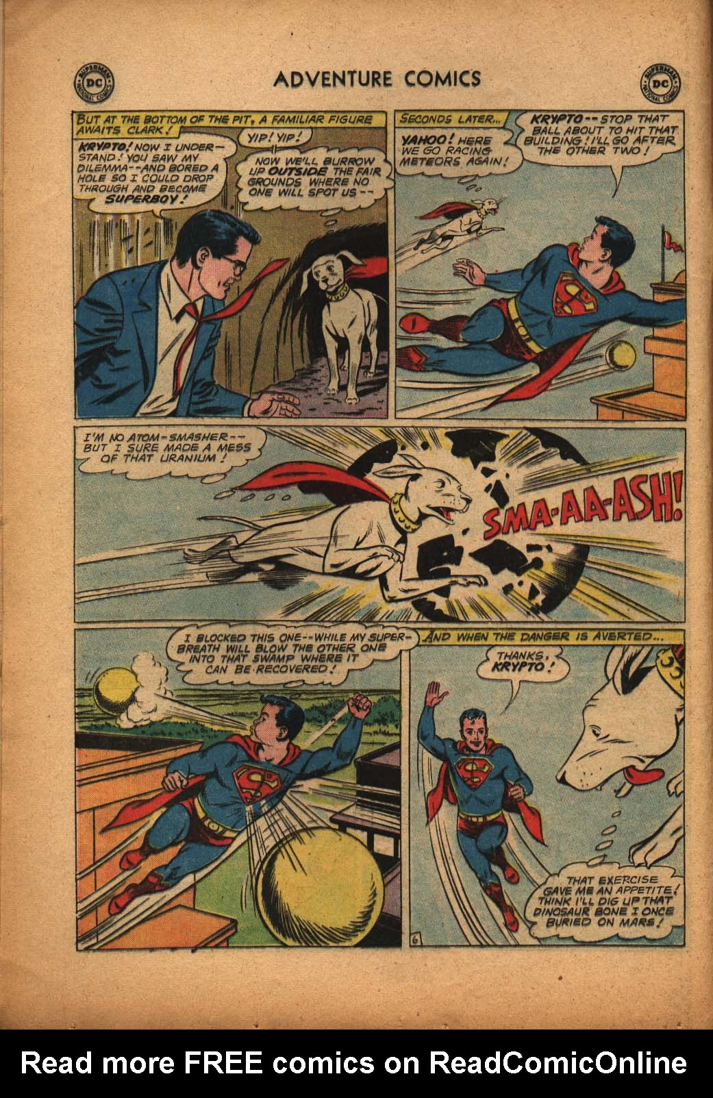 Read online Adventure Comics (1938) comic -  Issue #292 - 8