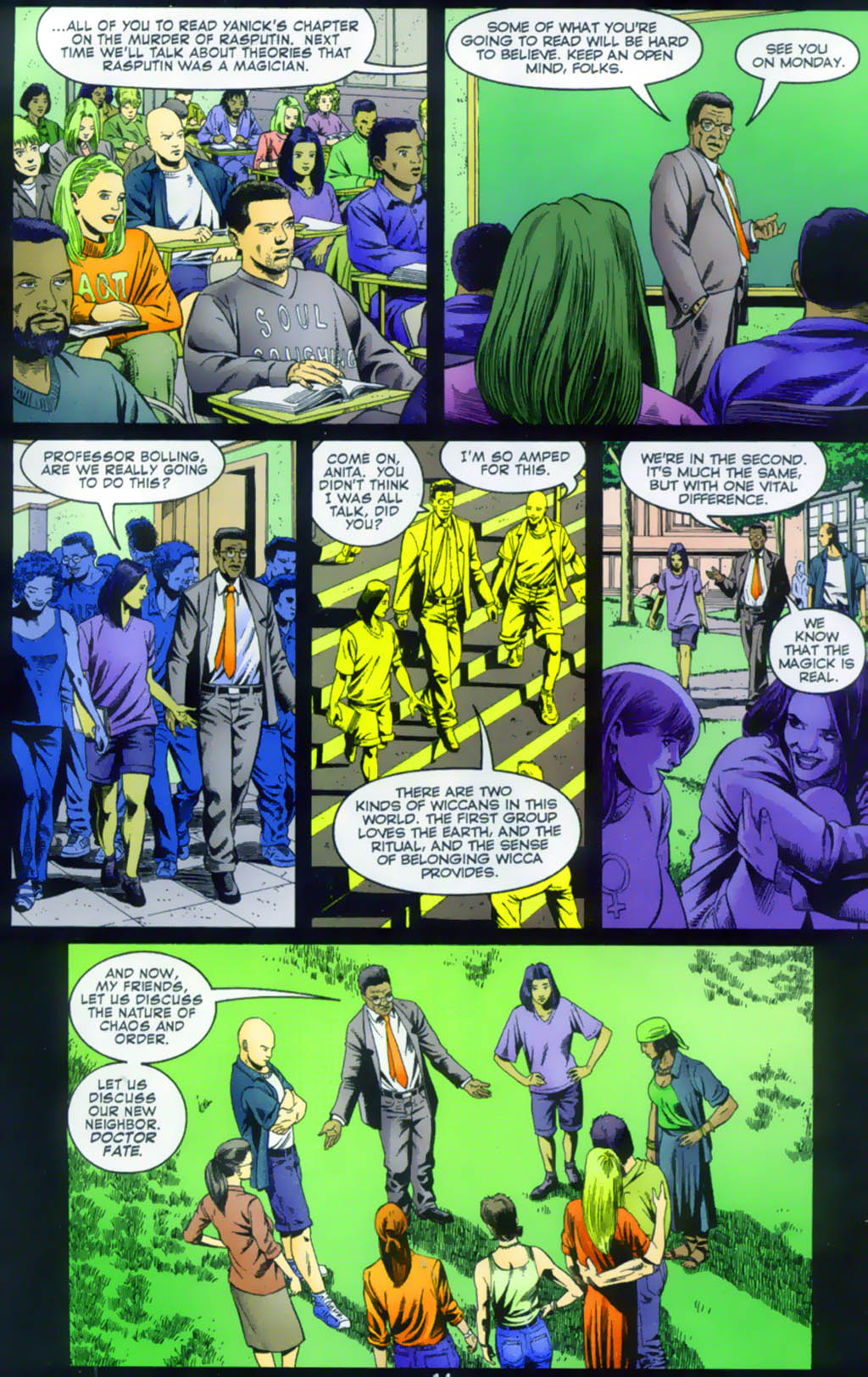 Read online Doctor Fate (2003) comic -  Issue #1 - 14