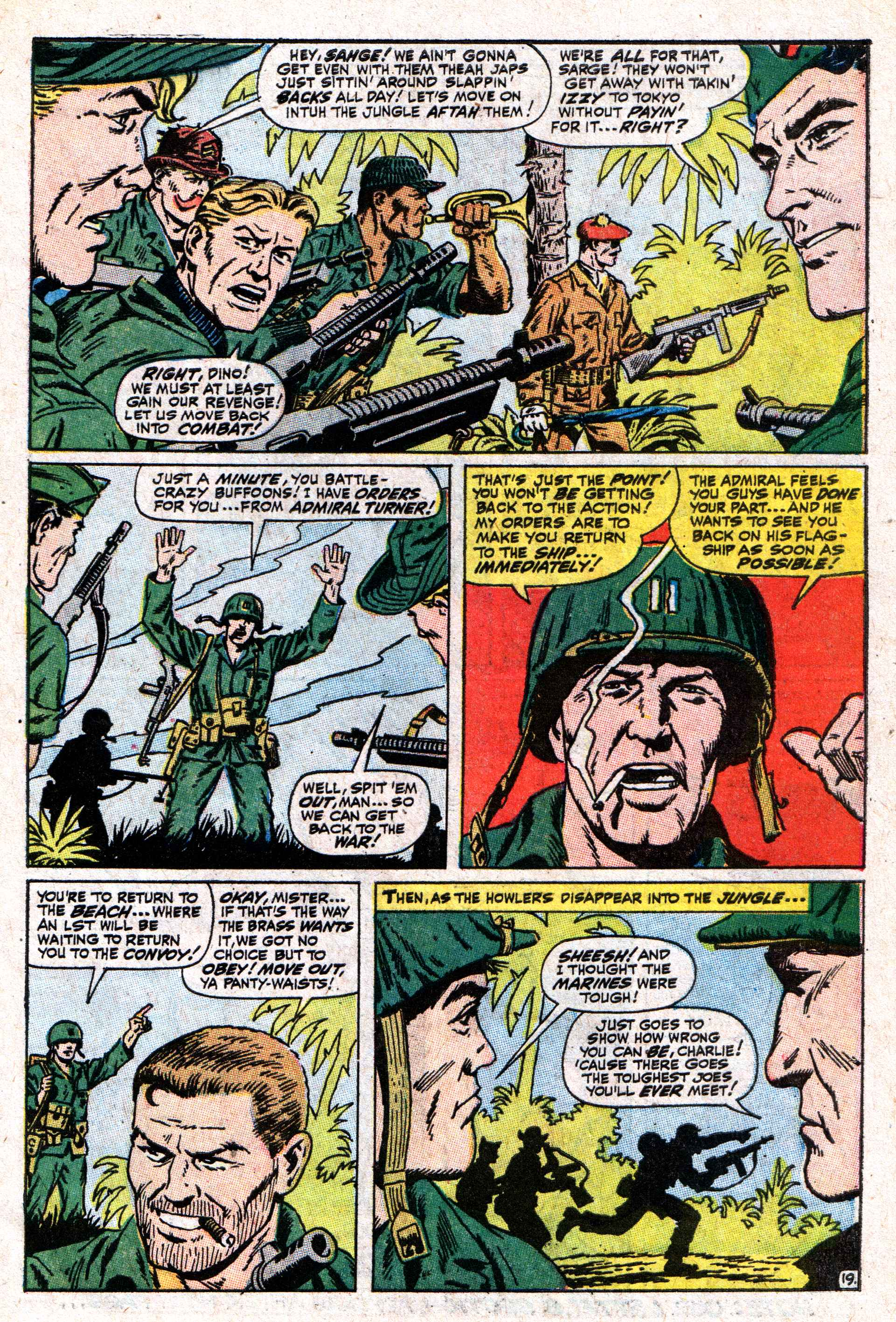 Read online Sgt. Fury comic -  Issue #50 - 27