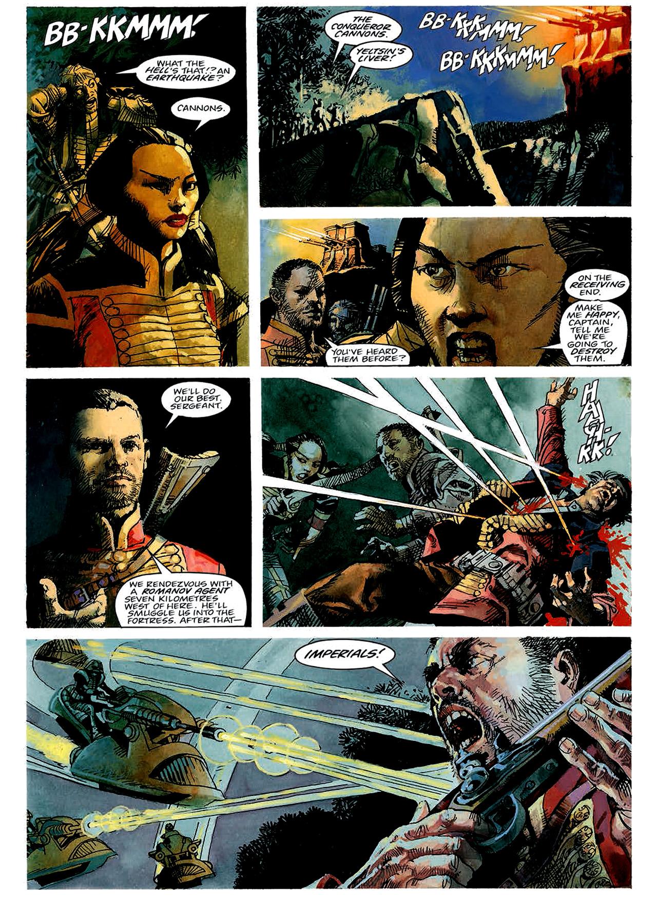 Read online Nikolai Dante comic -  Issue # TPB 4 - 27