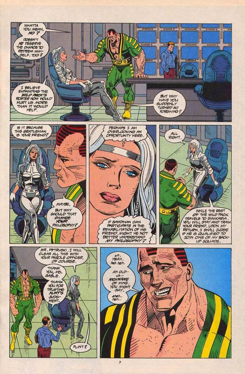 Read online Silver Sable and the Wild Pack comic -  Issue #26 - 7