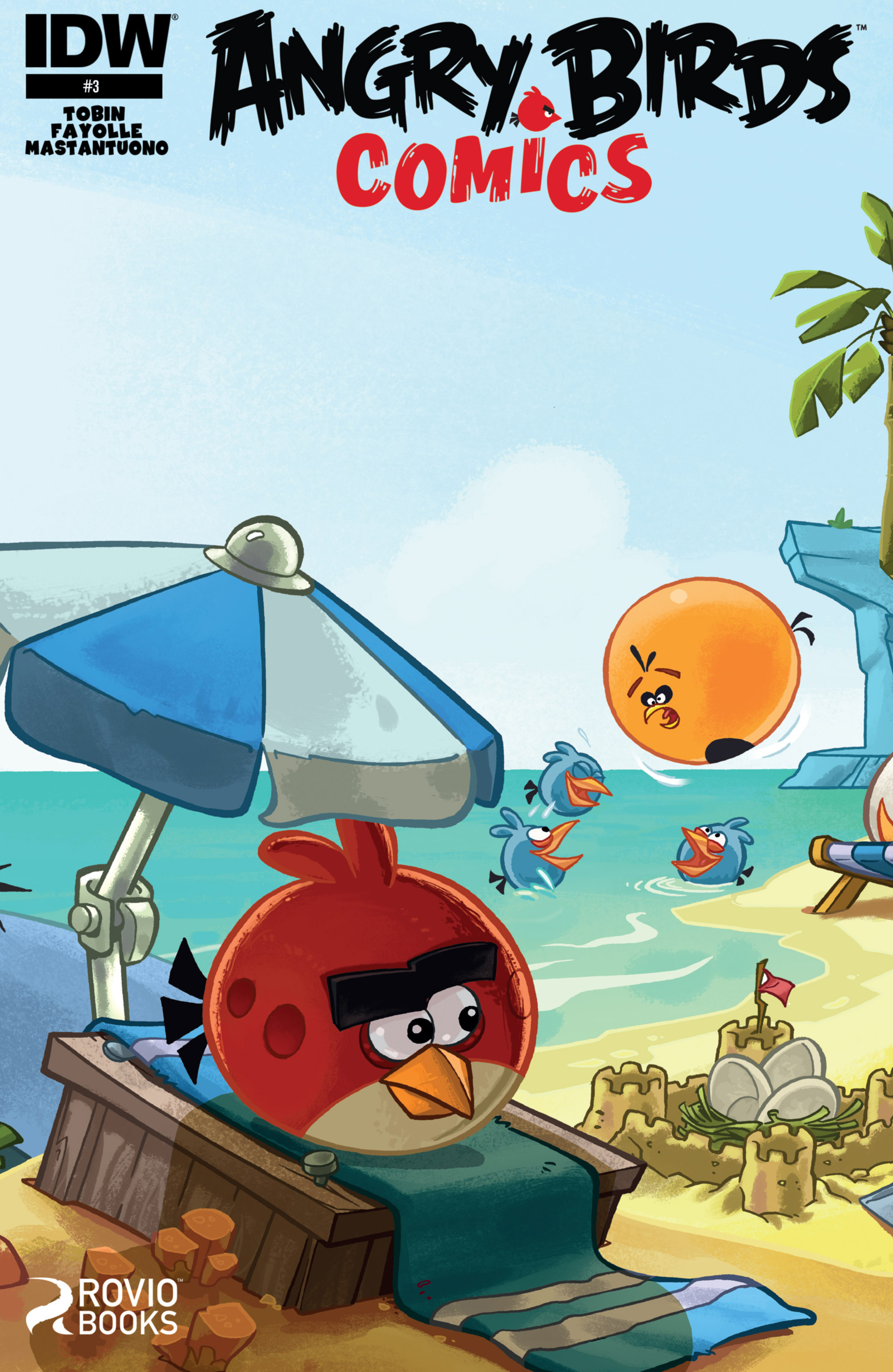 Read online Angry Birds Comics (2014) comic -  Issue #3 - 1