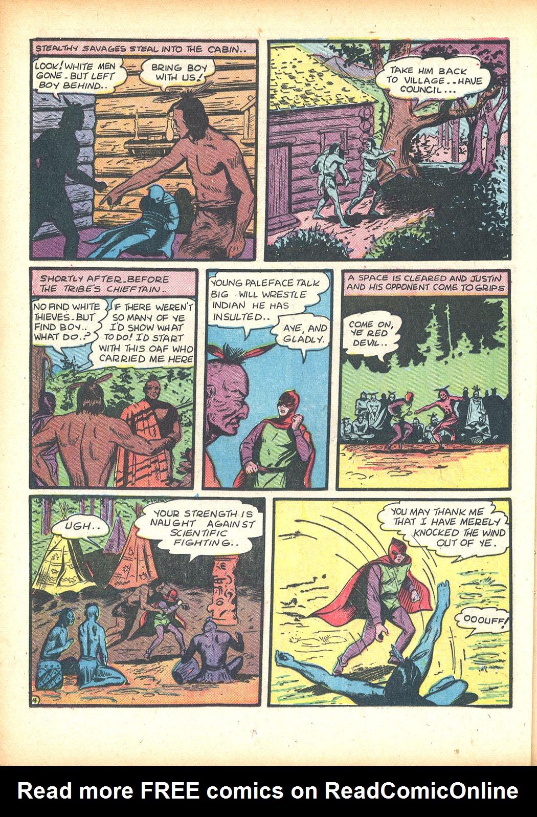 Read online Sensation (Mystery) Comics comic -  Issue #13 - 20