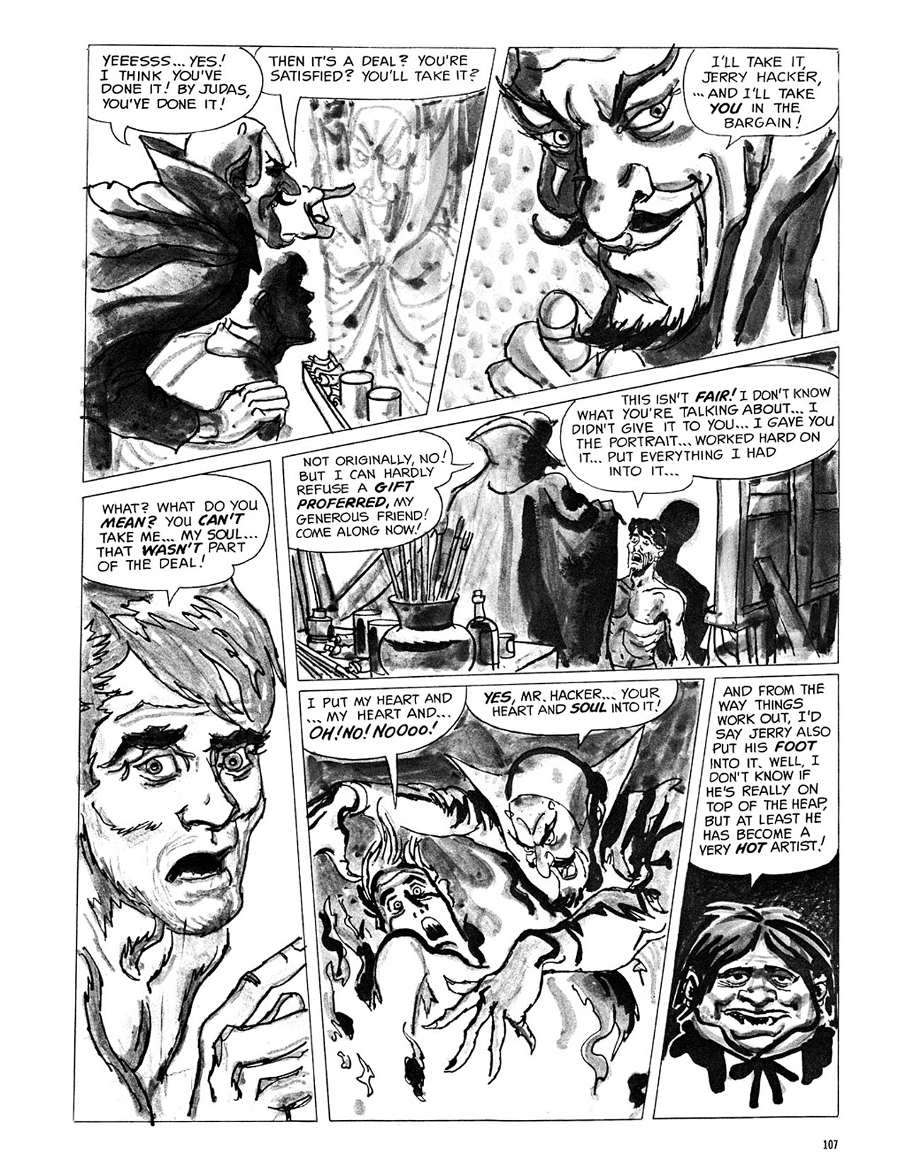 Read online Eerie Archives comic -  Issue # TPB 3 - 108