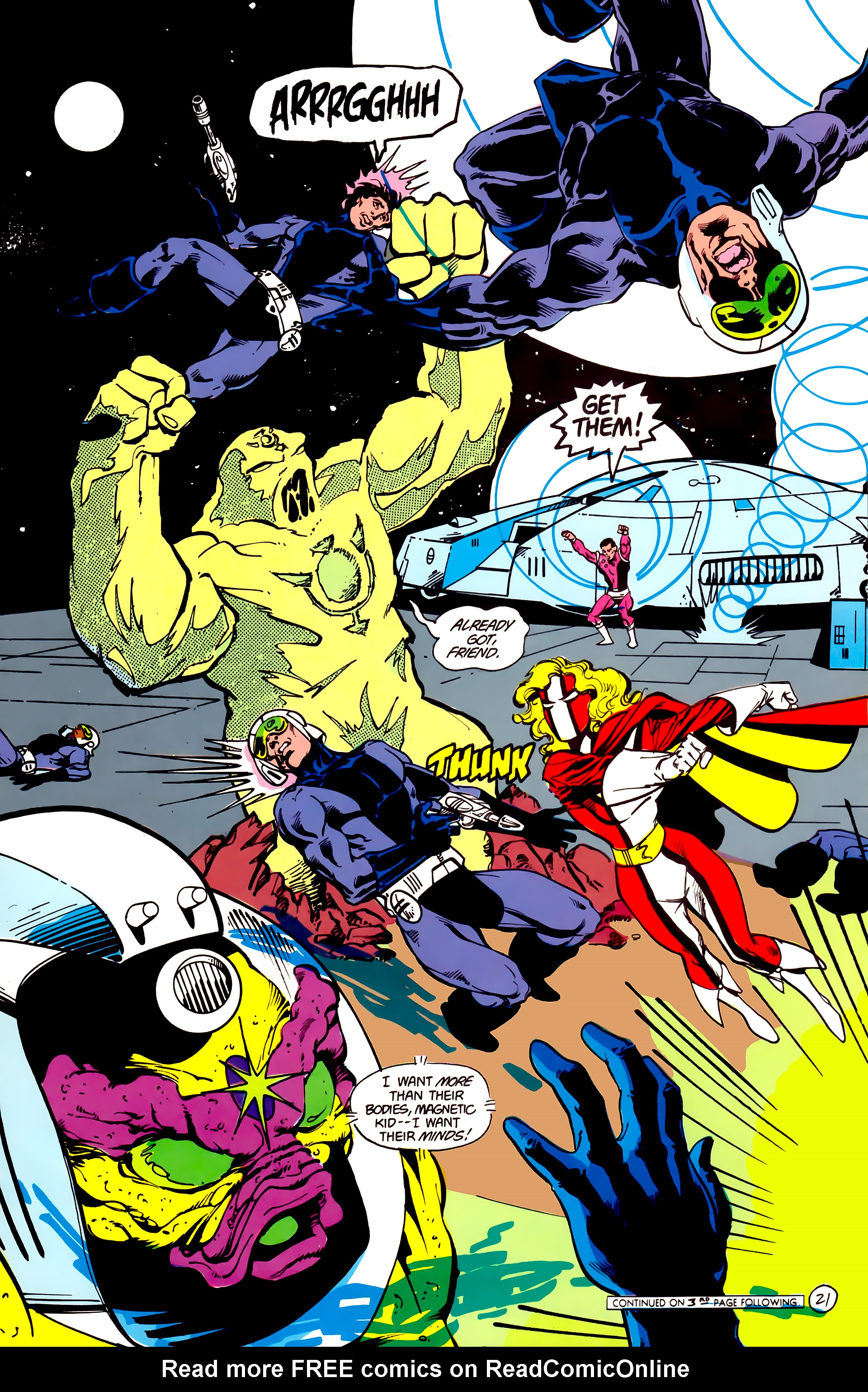 Legion of Super-Heroes (1984) 16 Page 22