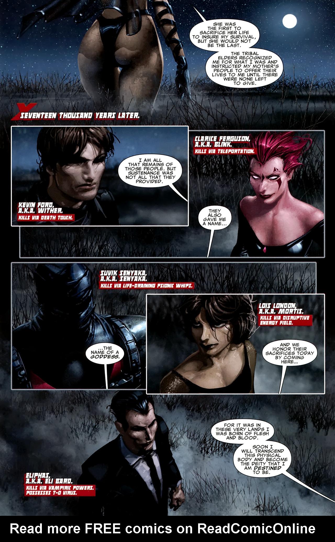 Read online X Necrosha comic -  Issue # Full - 6