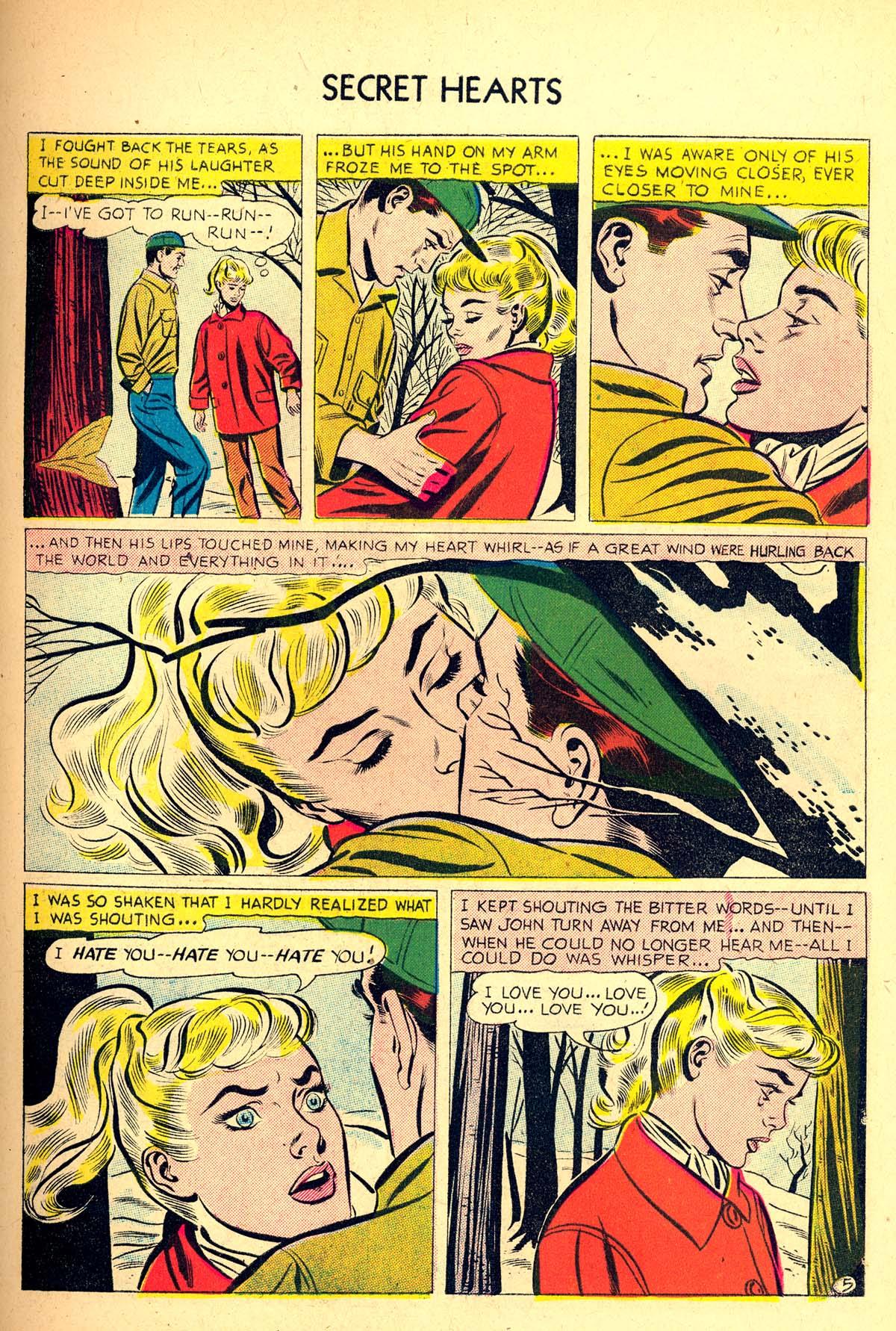 Read online Secret Hearts comic -  Issue #37 - 31