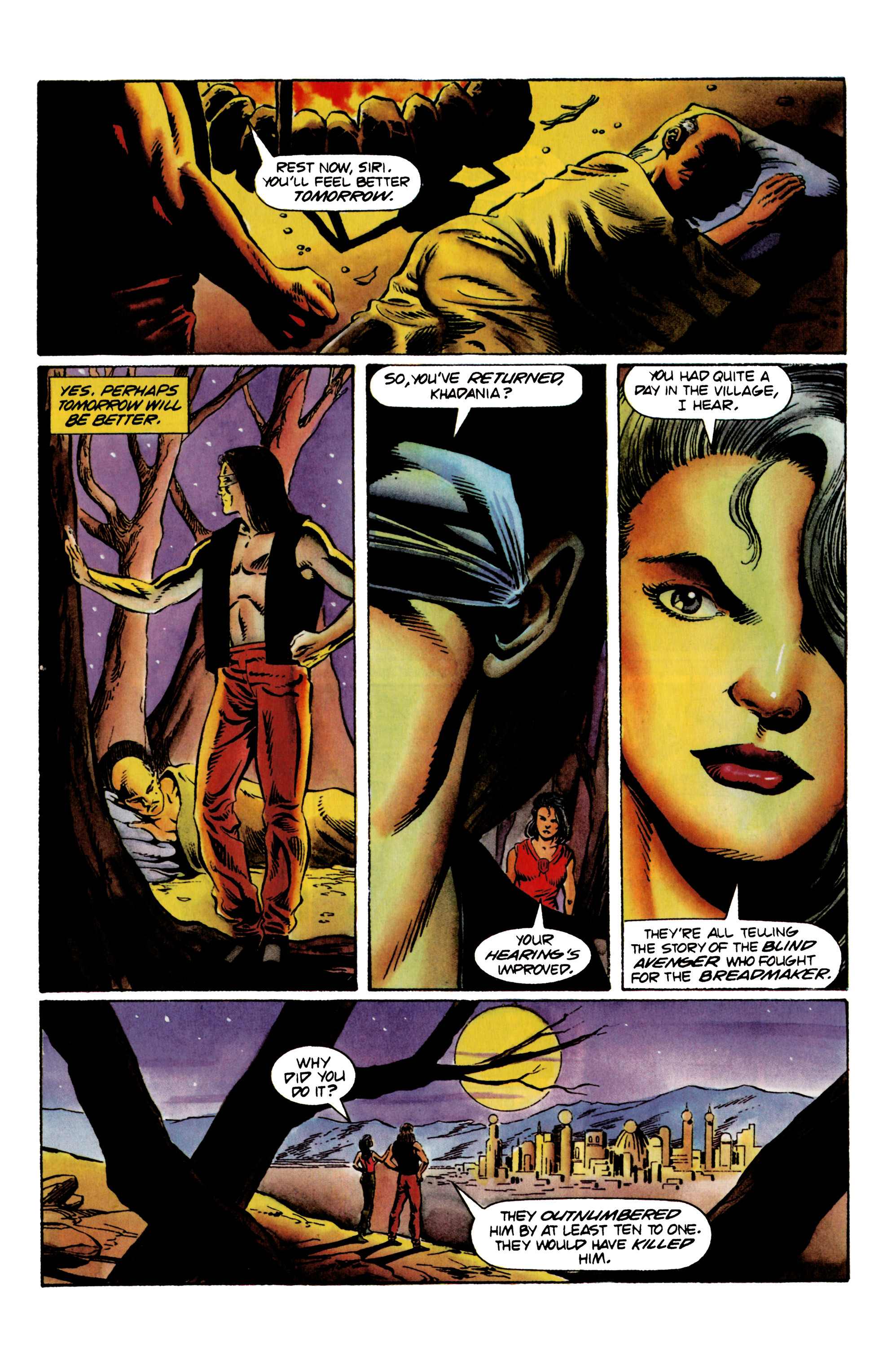 Read online Eternal Warrior (1992) comic -  Issue #23 - 19