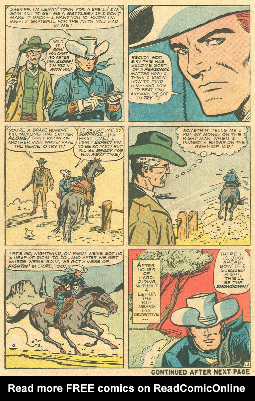 The Rawhide Kid (1955) issue 37 - Page 18