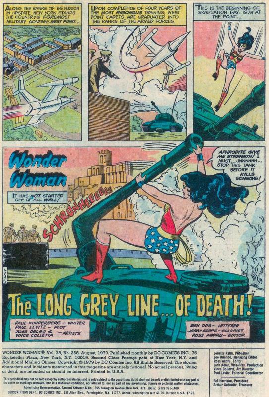 Read online Wonder Woman (1942) comic -  Issue #258 - 2