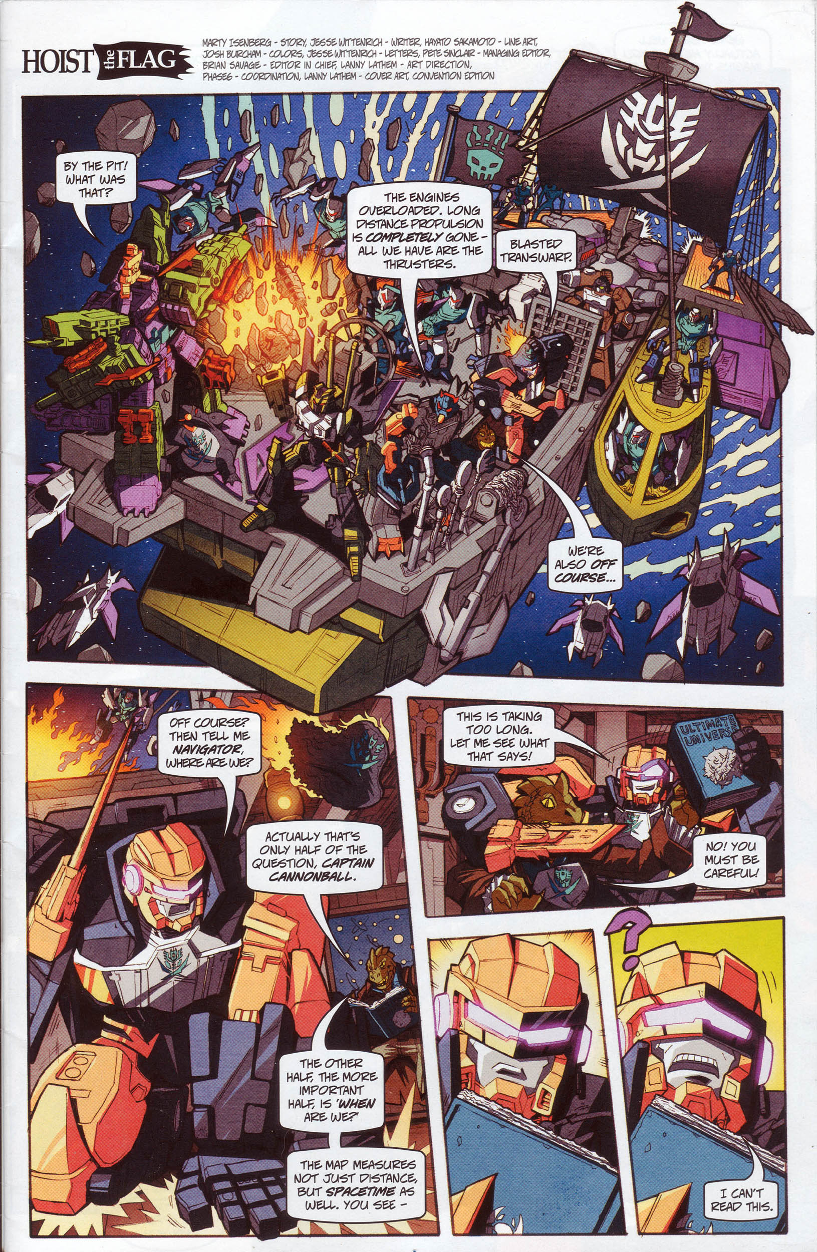Read online Transformers: Timelines comic -  Issue #10 - 2