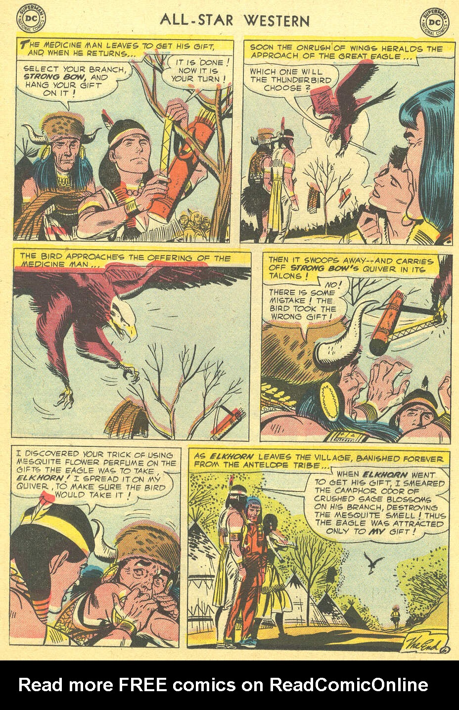 Read online All-Star Western (1951) comic -  Issue #92 - 16