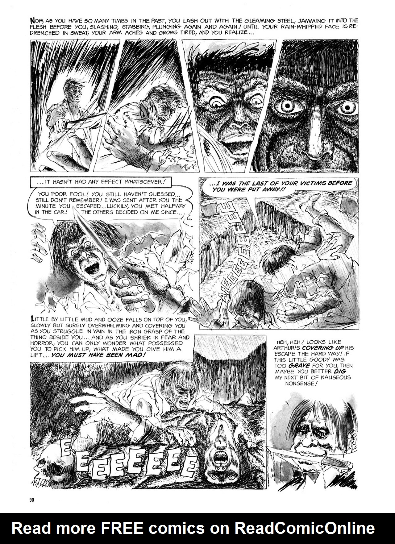 Read online Eerie Archives comic -  Issue # TPB 2 - 91
