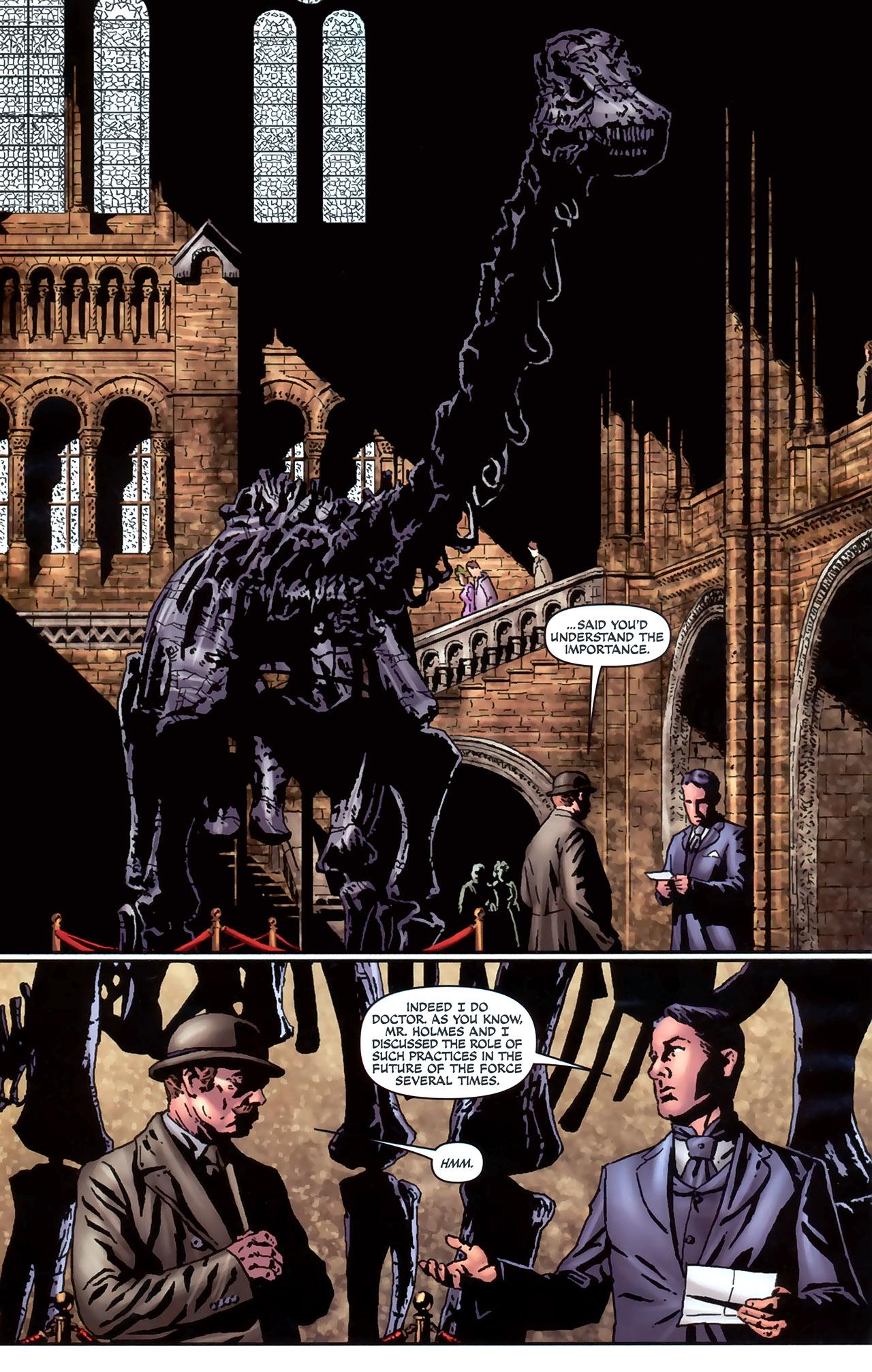 Read online Sherlock Holmes (2009) comic -  Issue #4 - 14