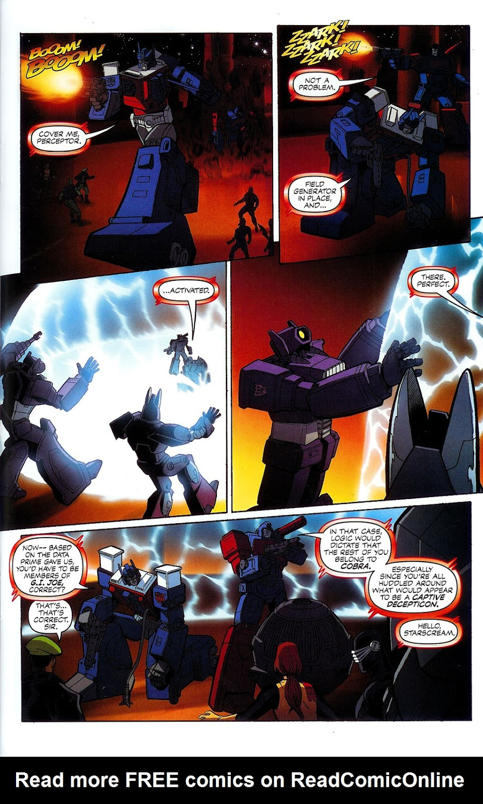 G.I. Joe vs. The Transformers II Issue #1 #2 - English 28