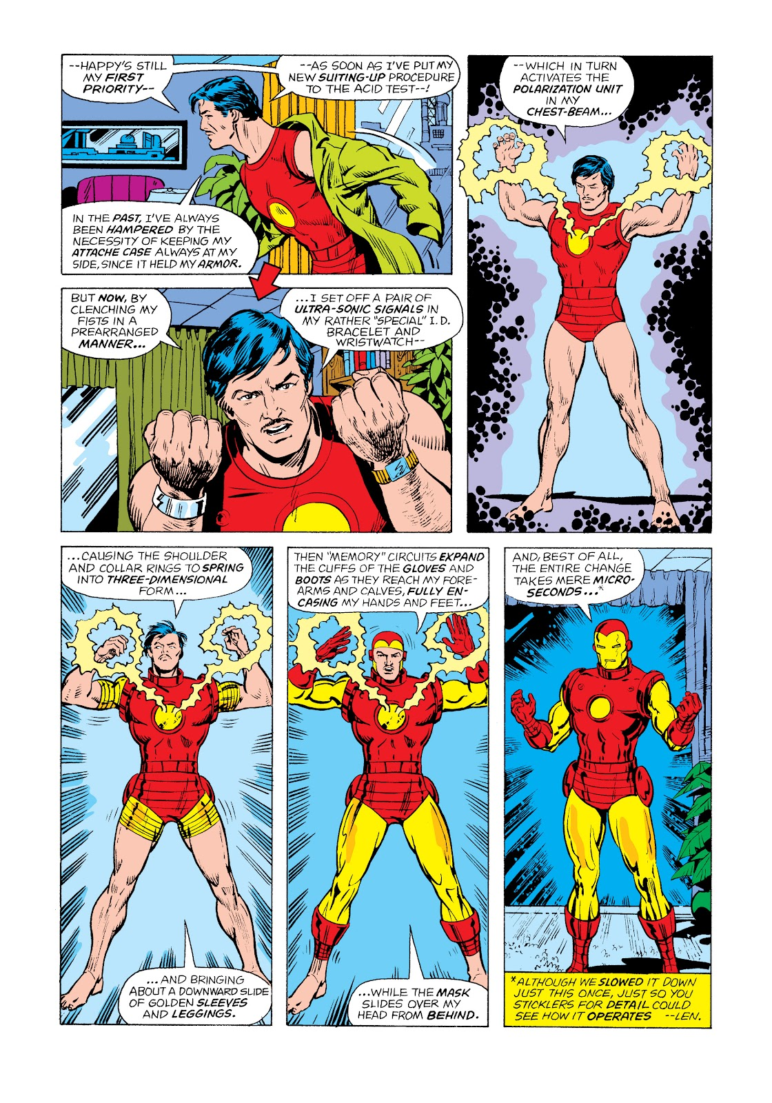 Read online Marvel Masterworks: The Invincible Iron Man comic -  Issue # TPB 11 (Part 1) - 74