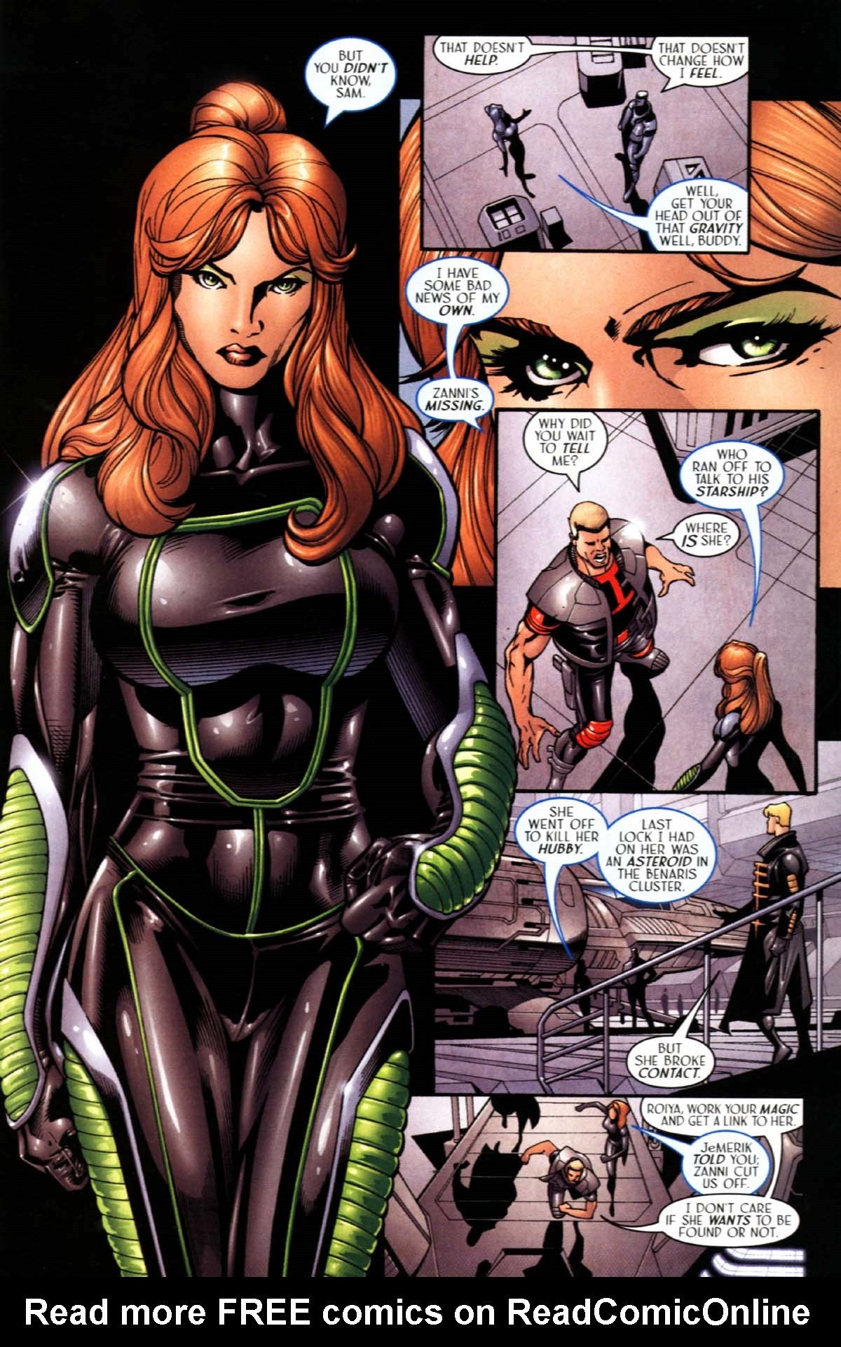 Read online Sigil (2000) comic -  Issue #22 - 19