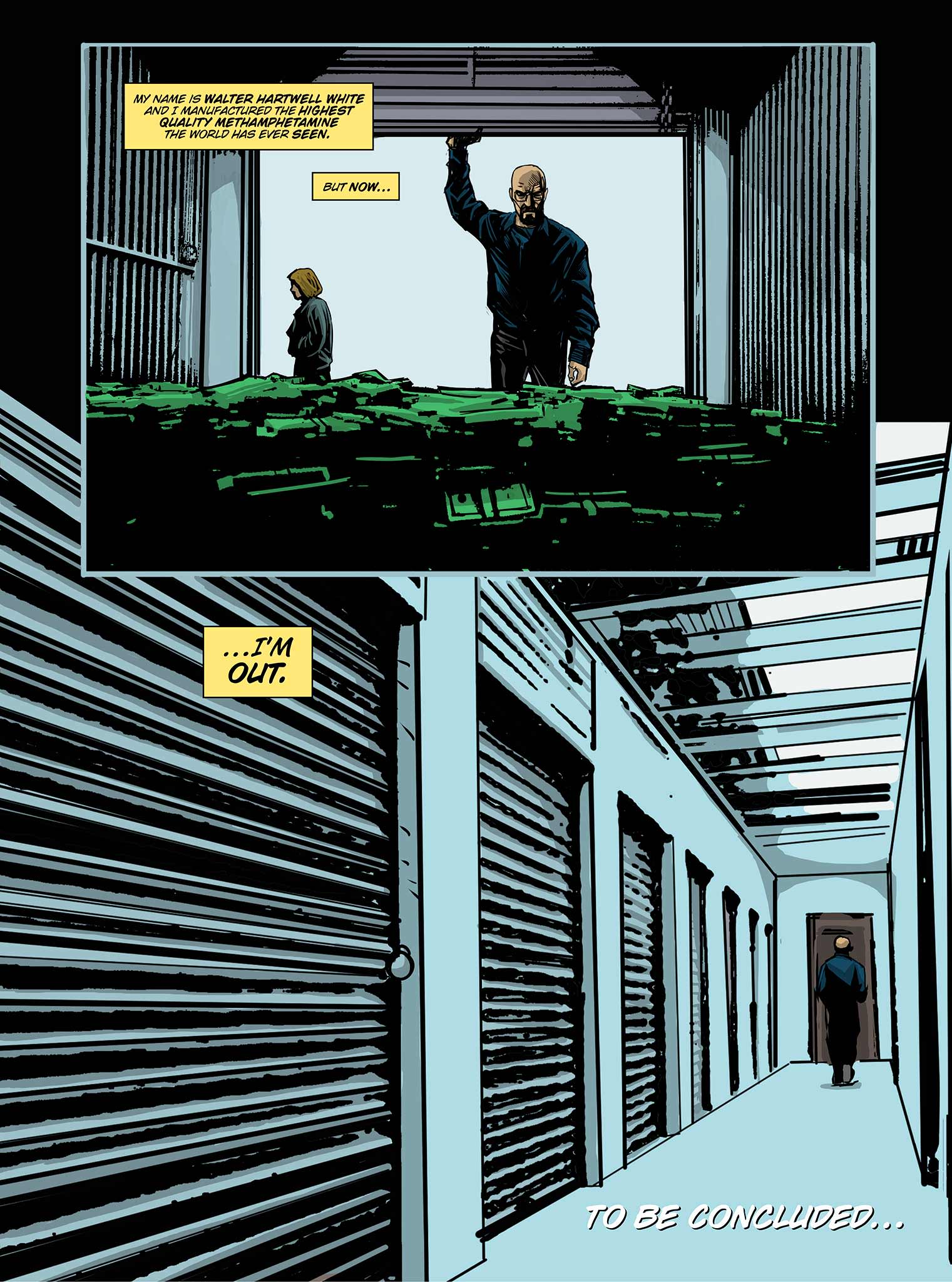 Read online Breaking Bad: All Bad Things comic -  Issue # Full - 21