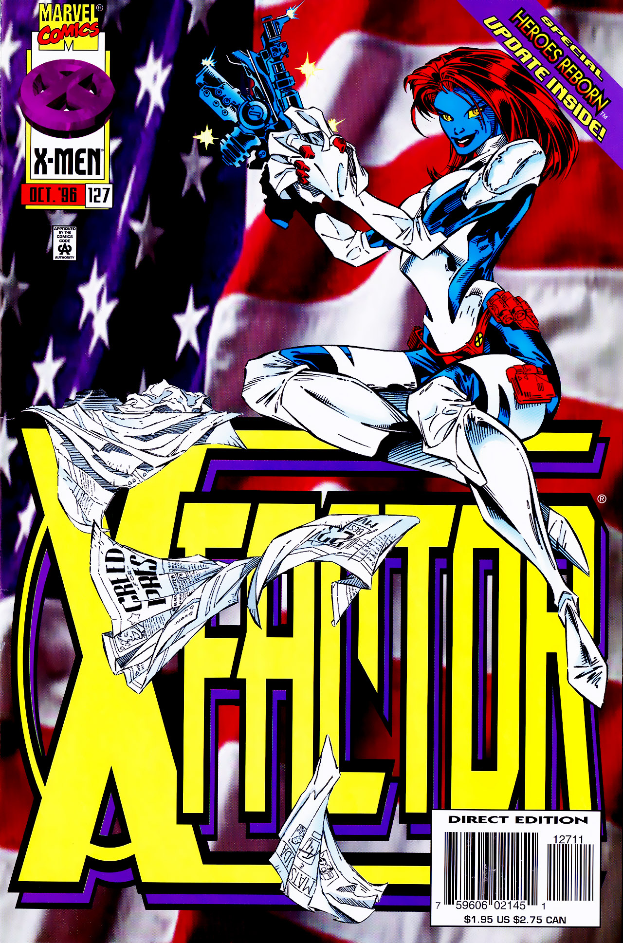 Read online X-Factor (1986) comic -  Issue #127 - 1
