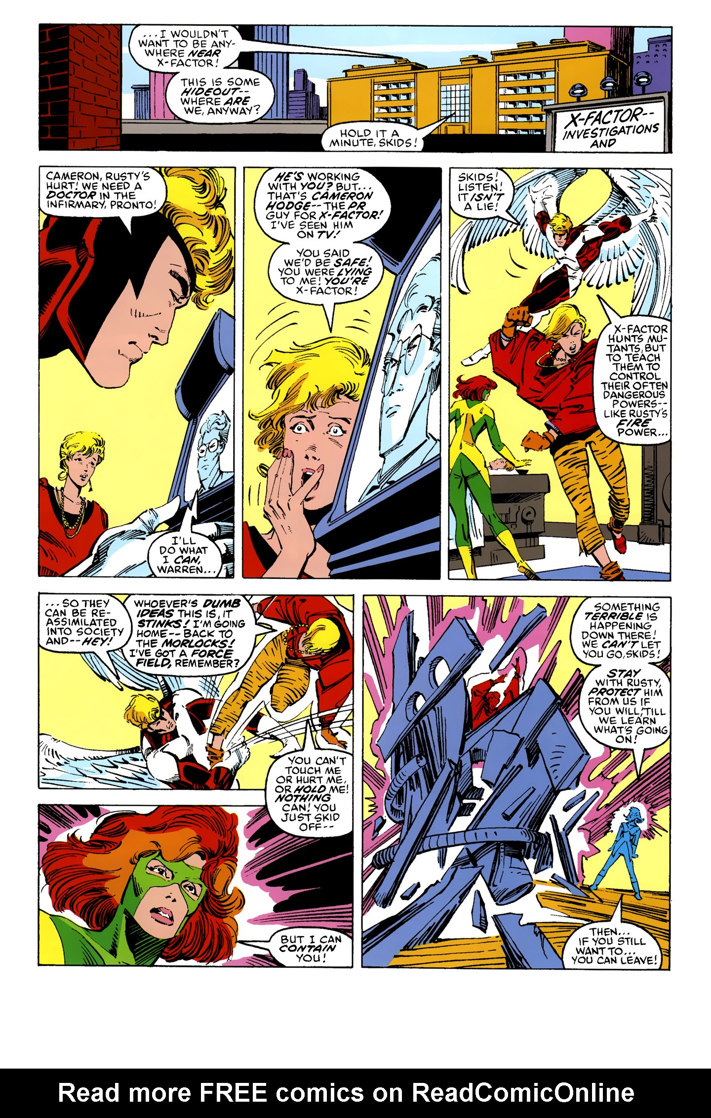 Read online X-Factor (1986) comic -  Issue #10 - 8