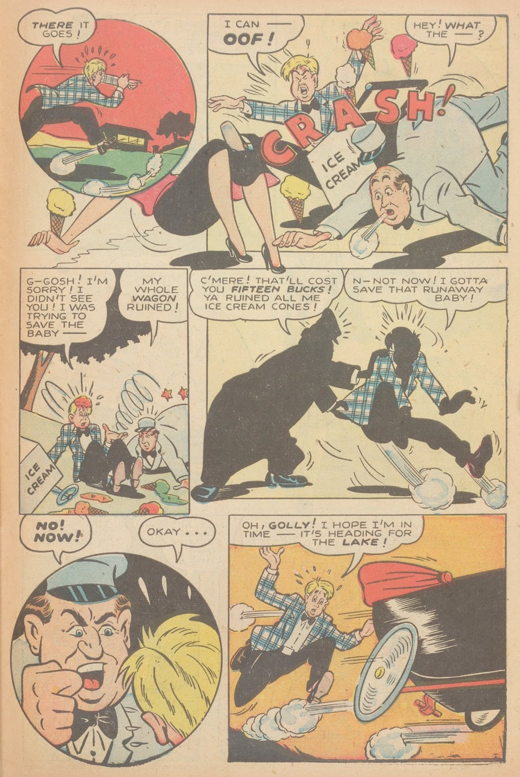 Read online Nellie The Nurse (1945) comic -  Issue #11 - 39