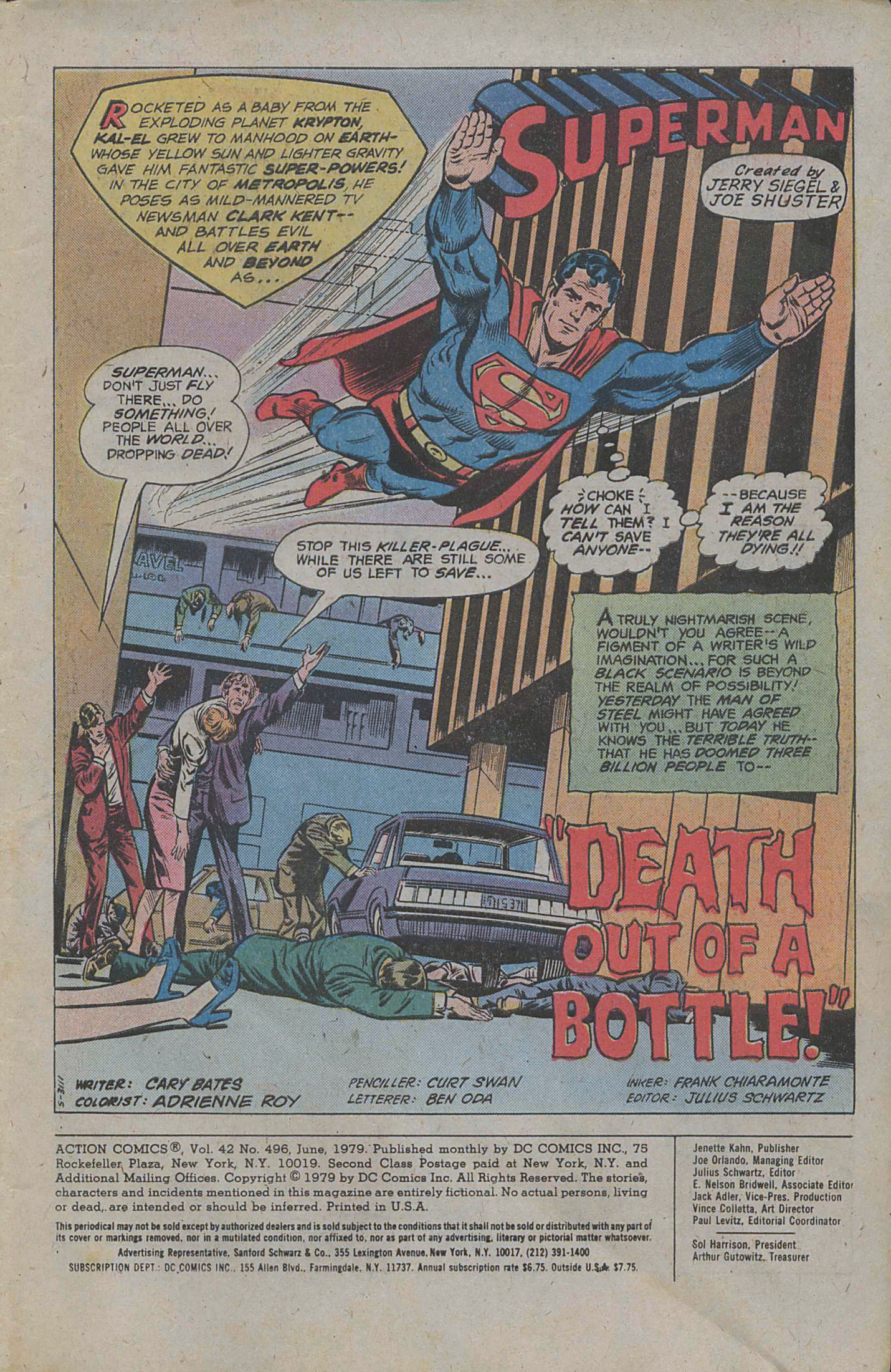 Read online Action Comics (1938) comic -  Issue #496 - 3