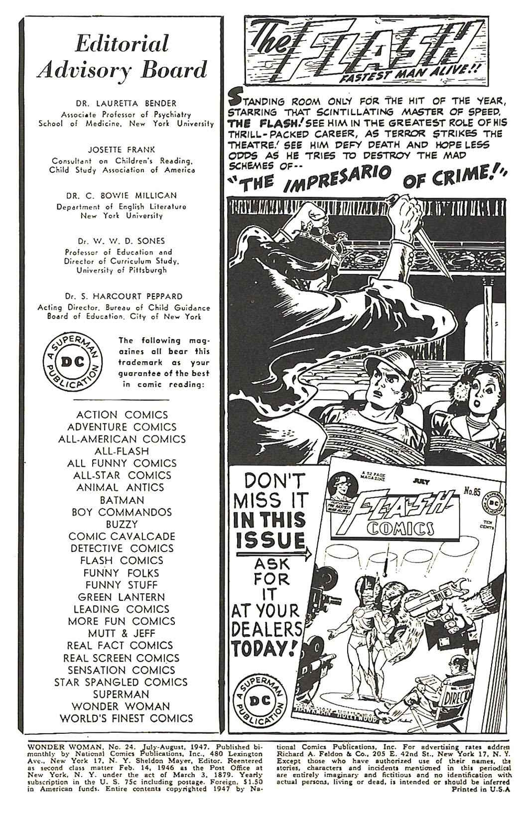 Read online Wonder Woman (1942) comic -  Issue #24 - 2