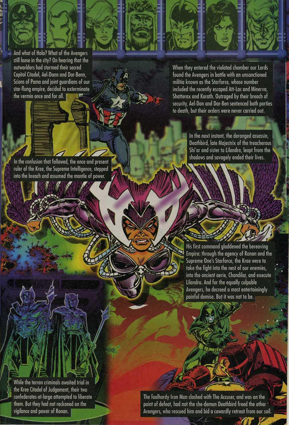 Read online Avengers Strike File comic -  Issue # Full - 12