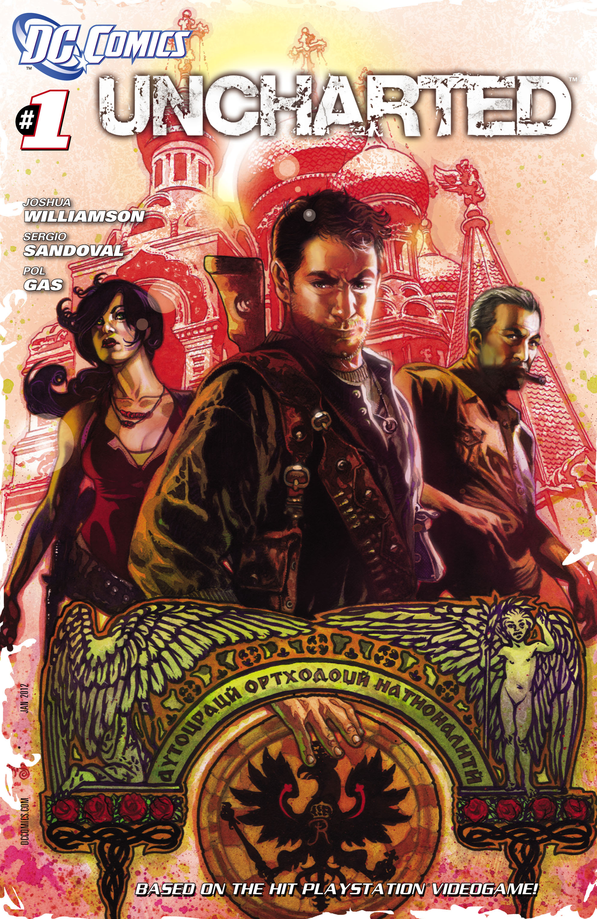 Read online Uncharted comic -  Issue #1 - 2