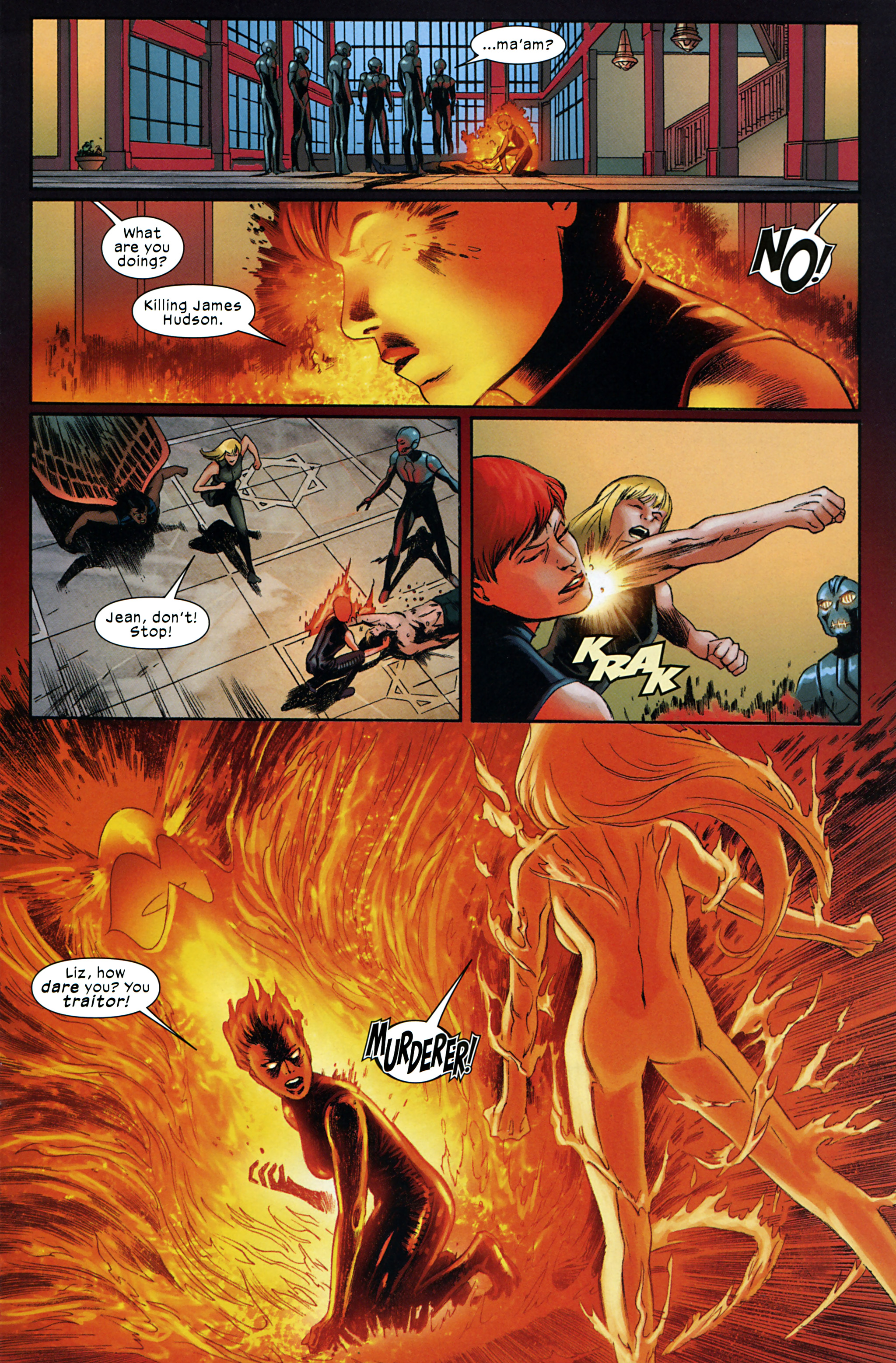 Read online Ultimate Comics X-Men comic -  Issue #32 - 17
