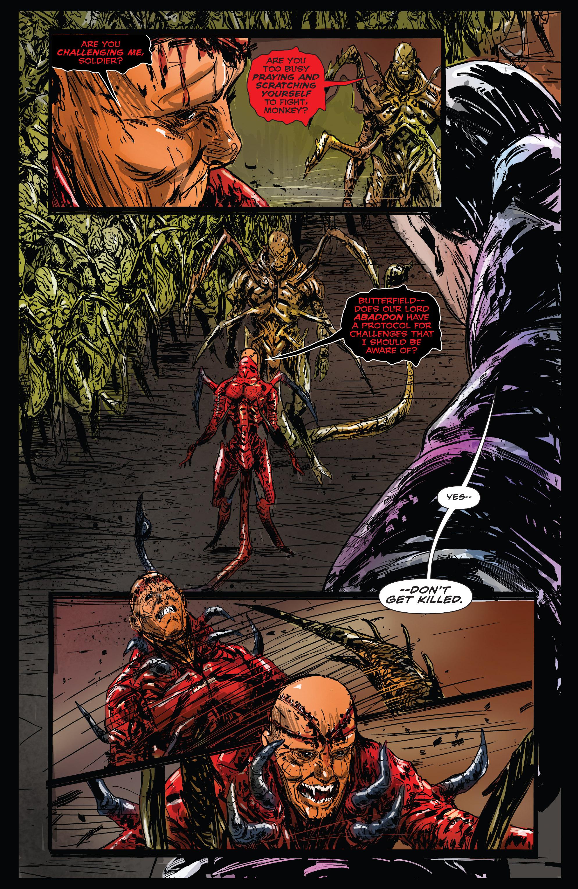 Read online Clive Barker's Hellraiser: The Dark Watch comic -  Issue # TPB 3 - 9