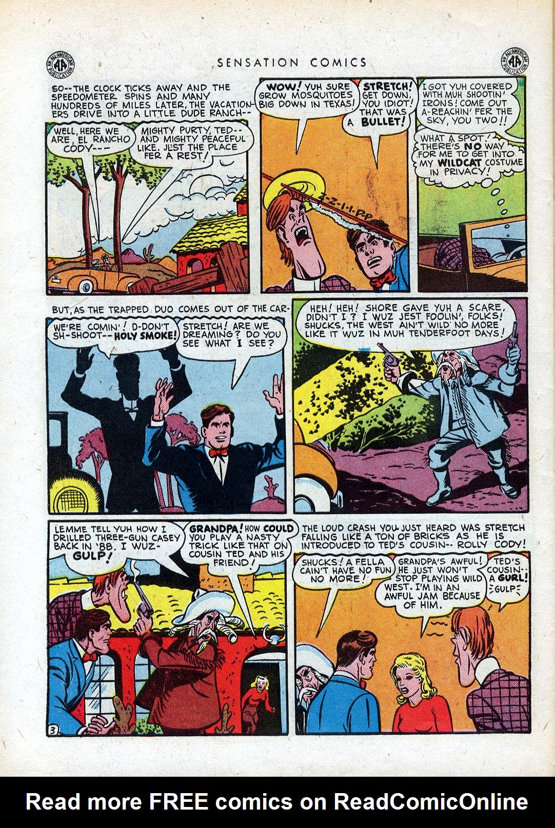 Read online Sensation (Mystery) Comics comic -  Issue #41 - 44