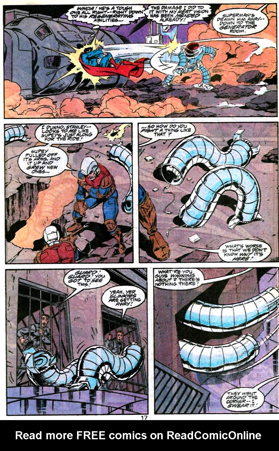 Read online Adventures of Superman (1987) comic -  Issue #486 - 18