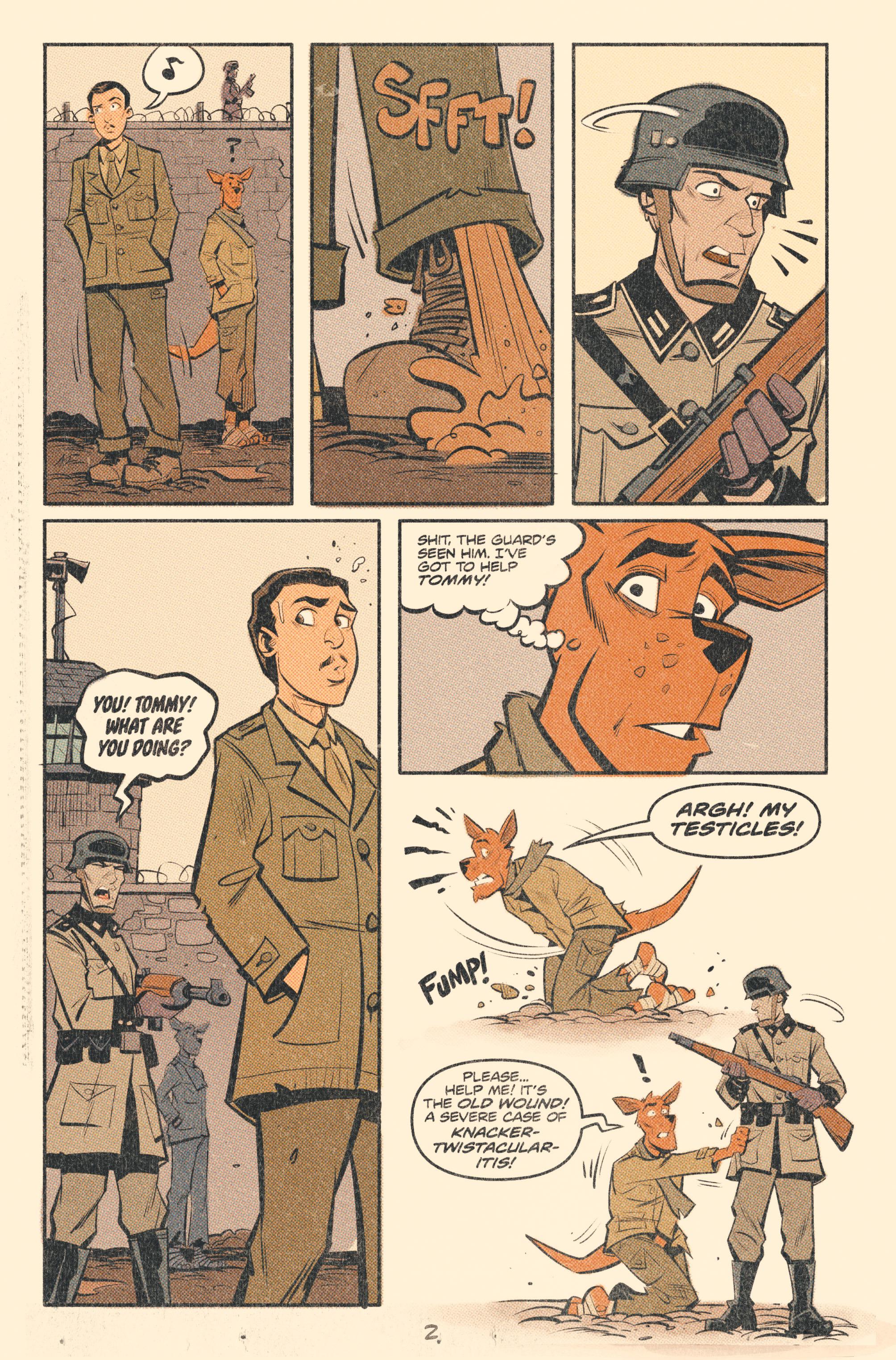Read online Tank Girl: World War Tank Girl comic -  Issue #2 - 4
