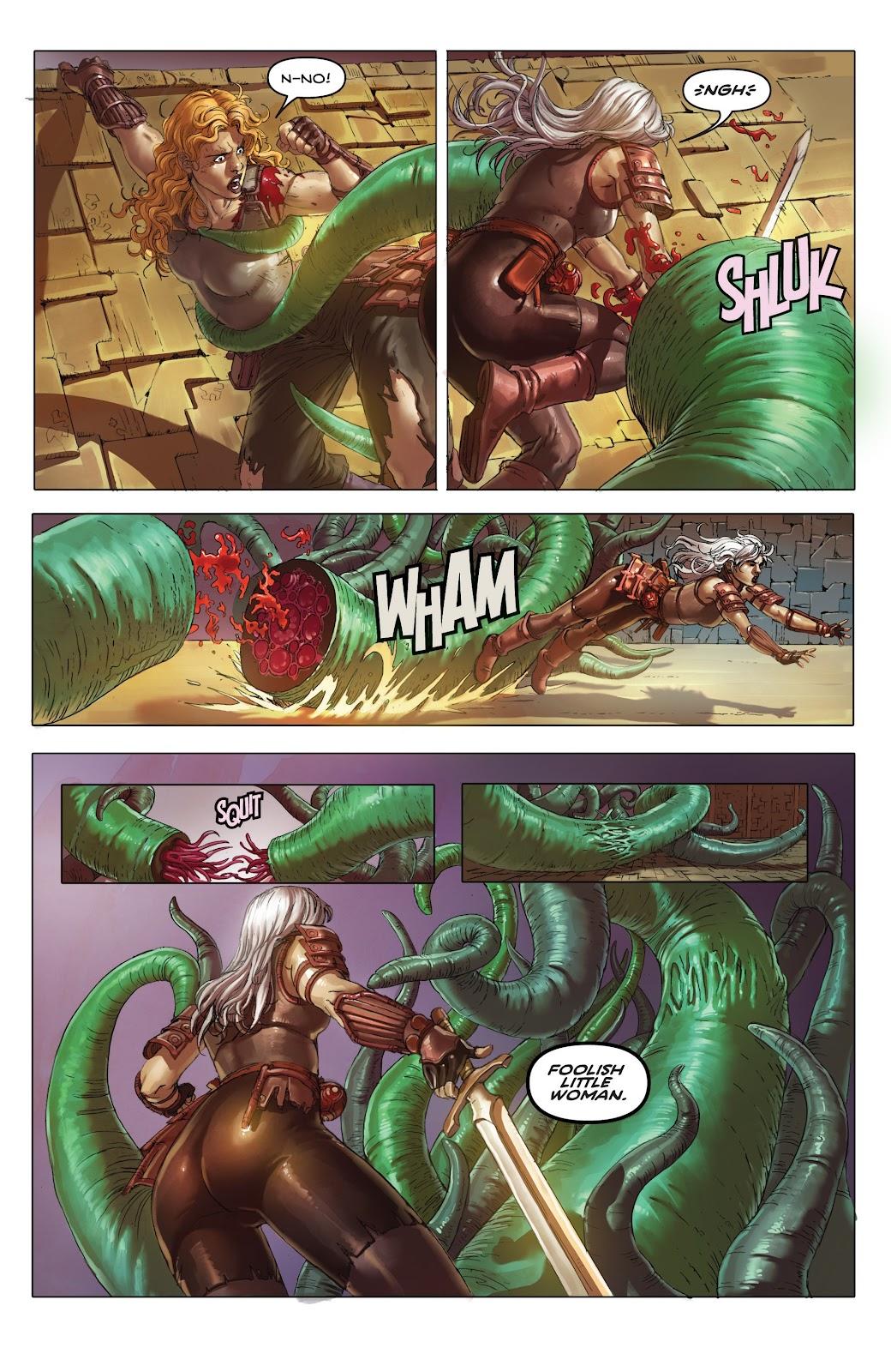 Read online Taarna comic -  Issue #4 - 9
