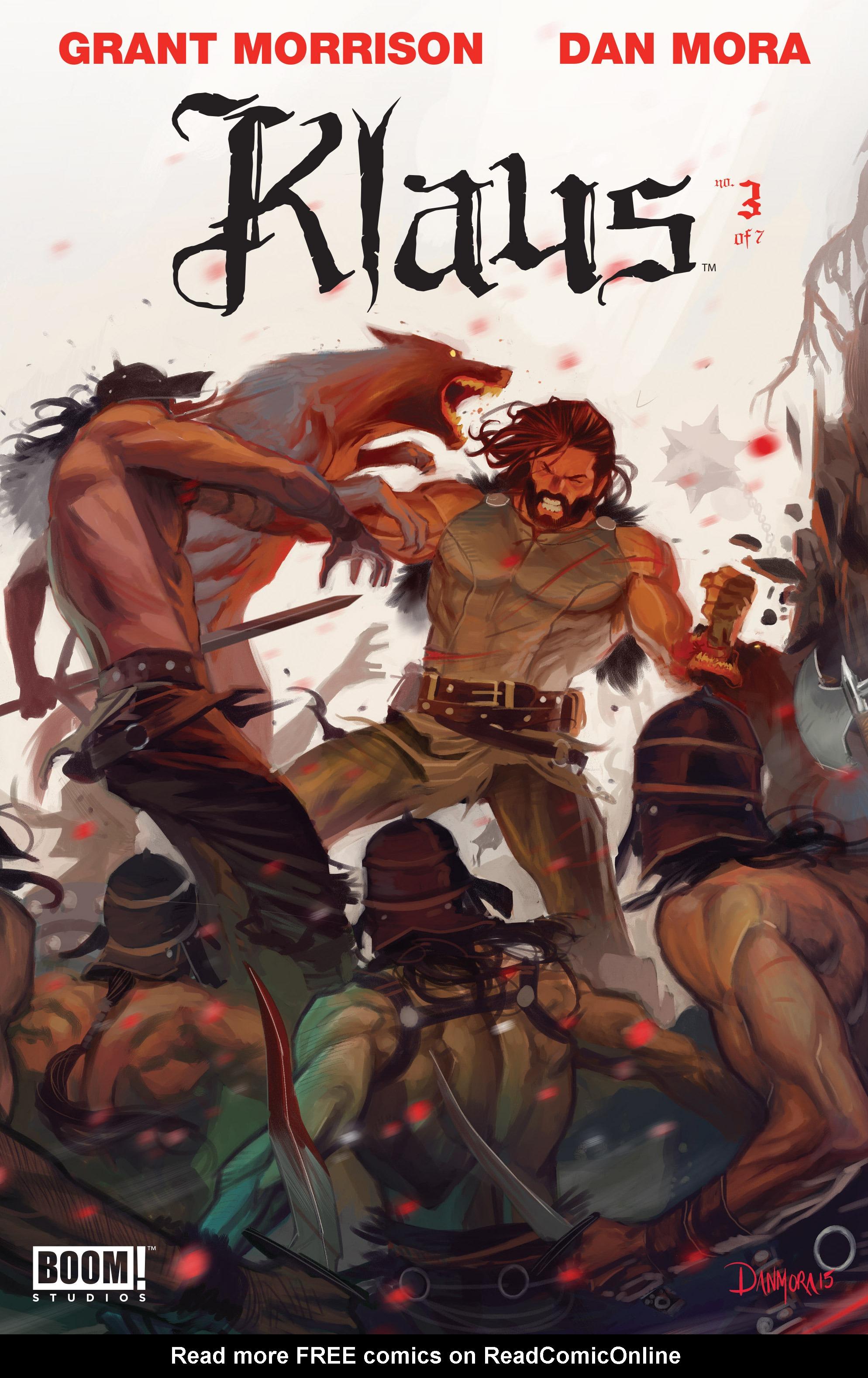Read online Klaus comic -  Issue #3 - 1