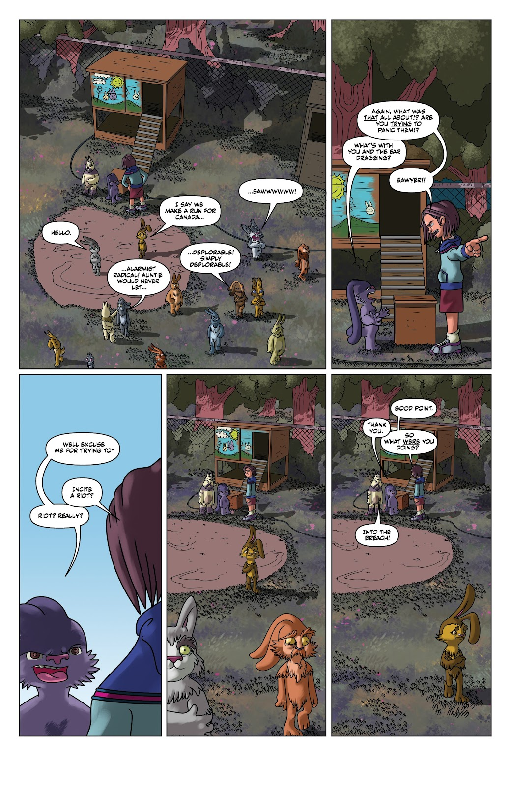 Read online Auntie Agatha's Home For Wayward Rabbits comic -  Issue #5 - 12