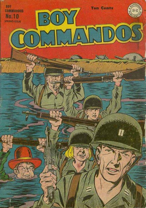 Boy Commandos 10 Page 1